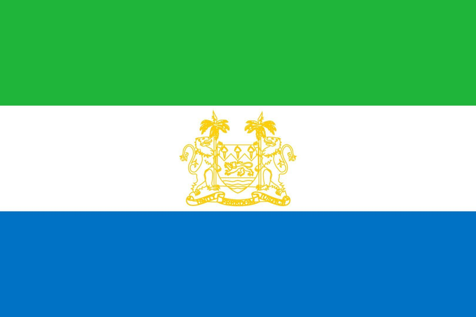 Sierra Leone flag wallpaper | Flags wallpaper | Pinterest | Sierra ...