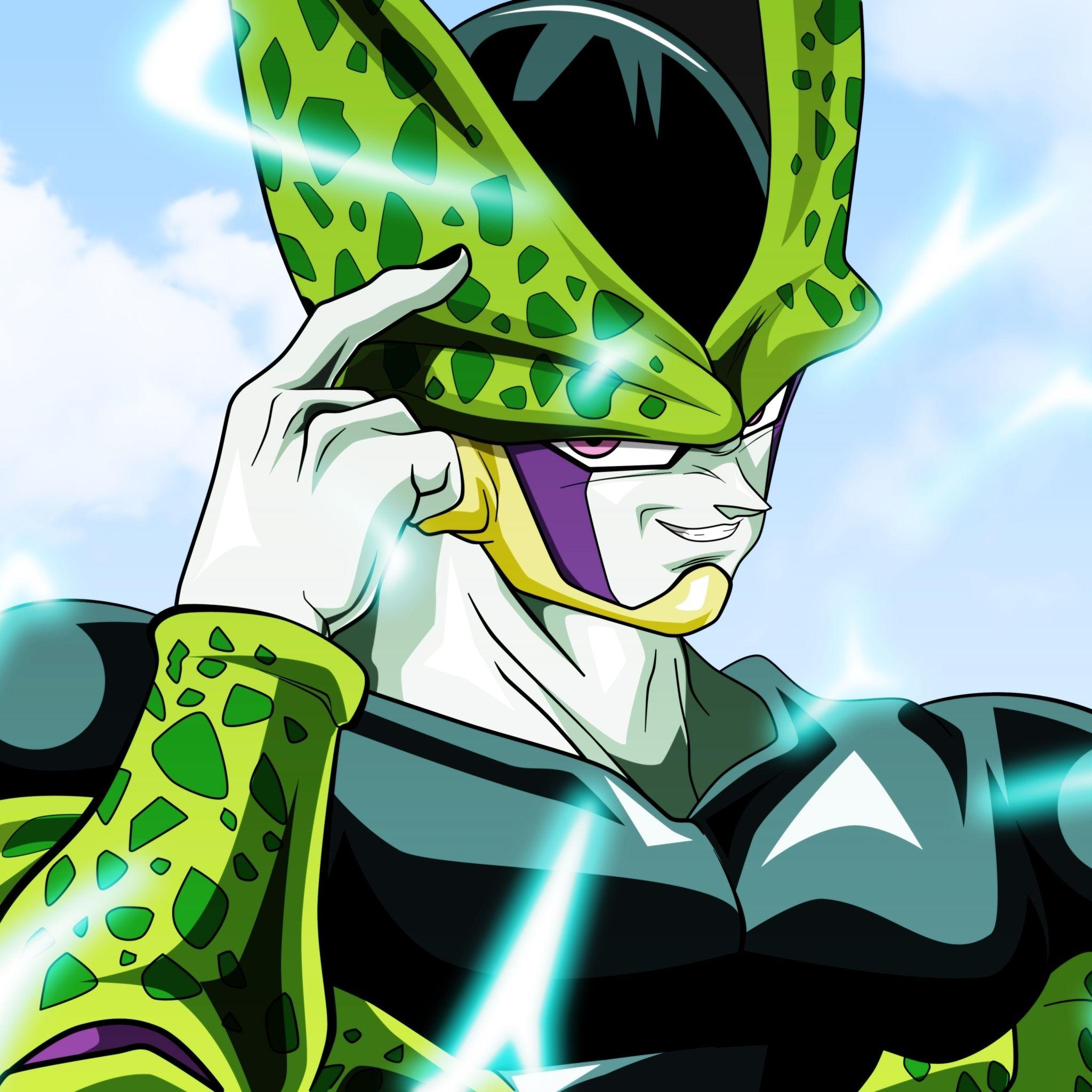 Dragon Ball Z Cell Wallpapers Wallpaper Cave