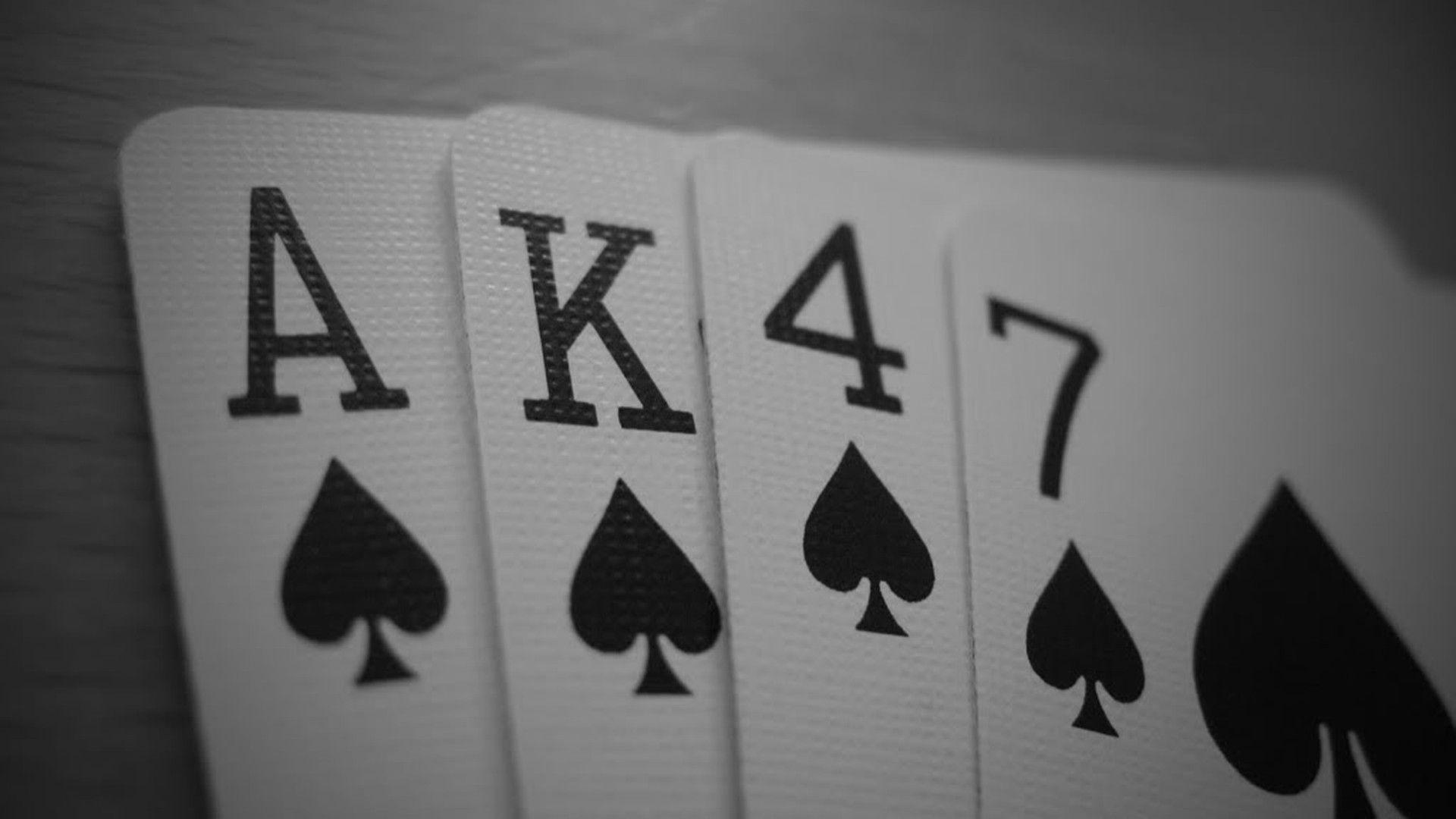 Ak 47 Playing Cards Wallpapers HD Desktop And Mobile Backgrounds