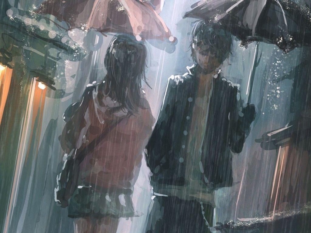 Anime Sad Couple Wallpapers Wallpaper Cave