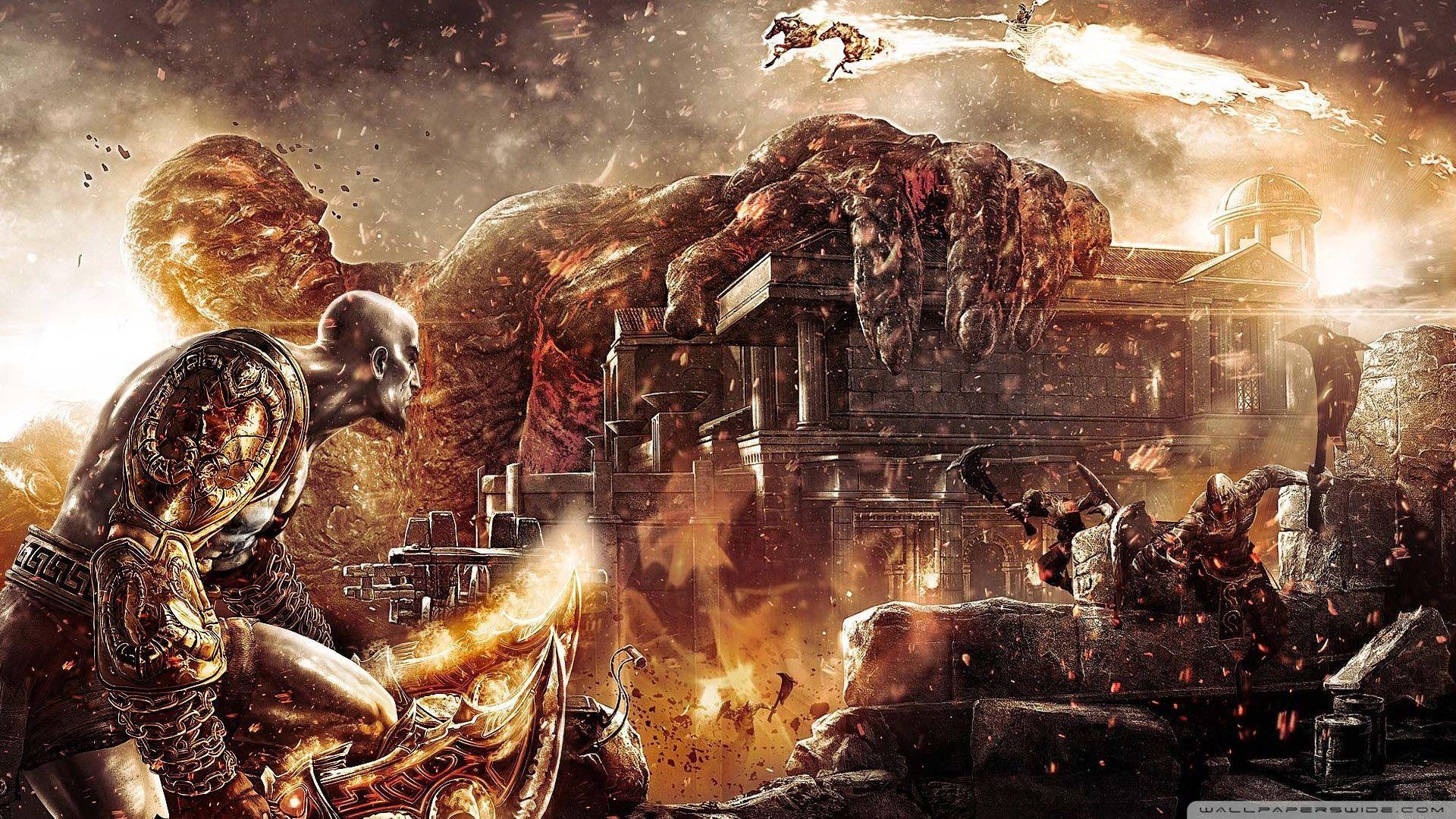 God Of War 4K Wallpapers - Wallpaper Cave
