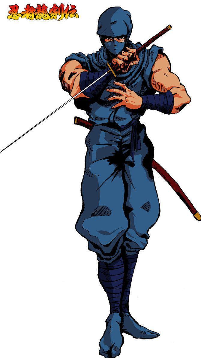 Ninja Gaiden Ryu Hayabusa Nes Fan Art Wallpapers Wallpaper Cave