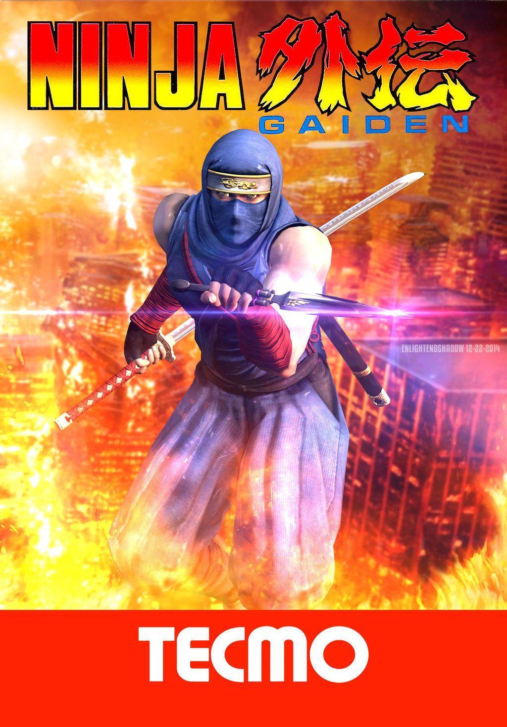 Game Ninja Gaiden Wallpaper: Ninja Gaiden Ryu Hayabusa Nes Fan Art Wallpapers