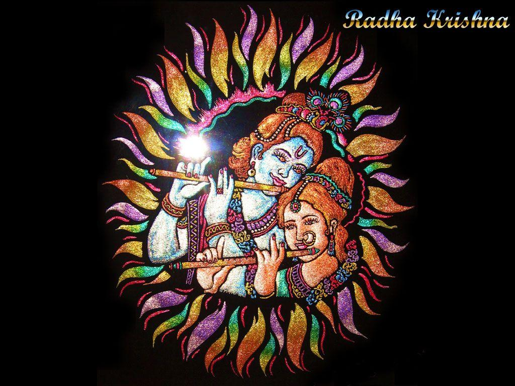FREE God Wallpaper: Free Radha Krishna 3D Wallpapers