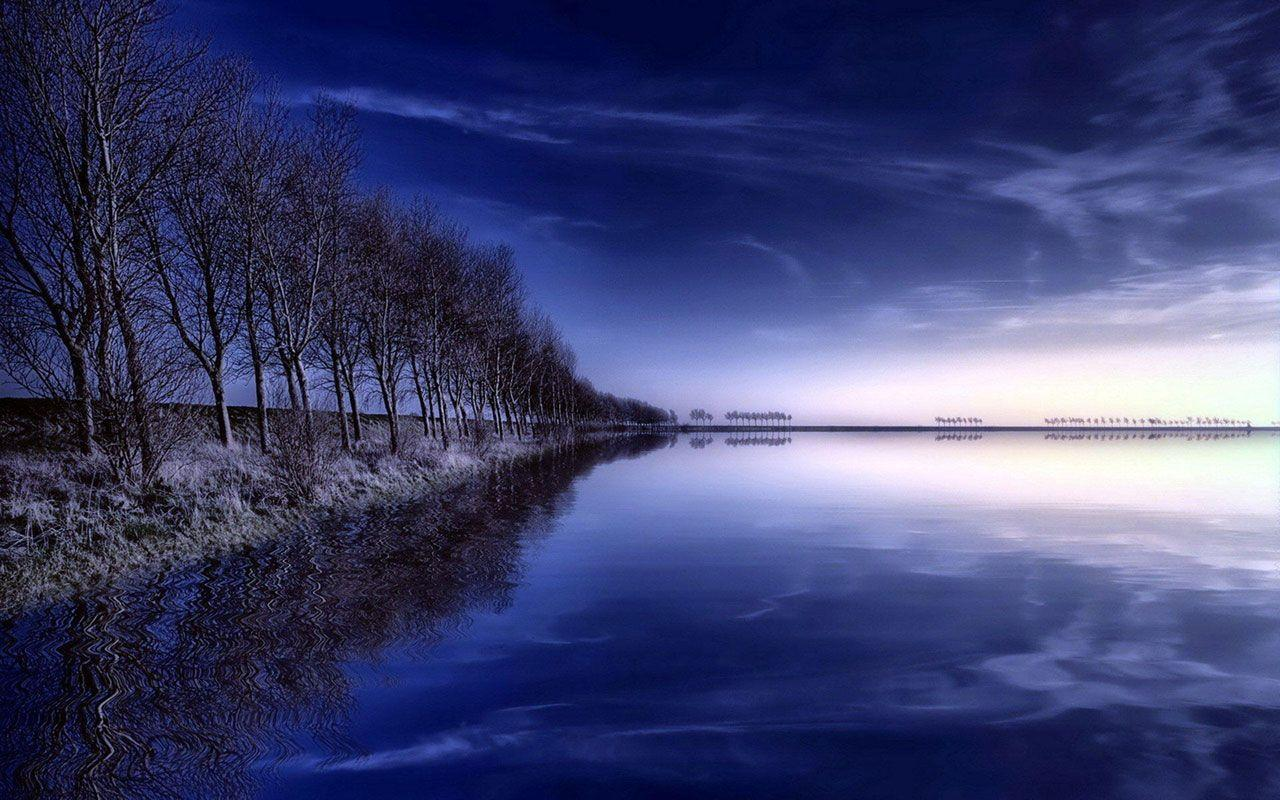 Blue Scenery Wallpapers Wallpaper Cave
