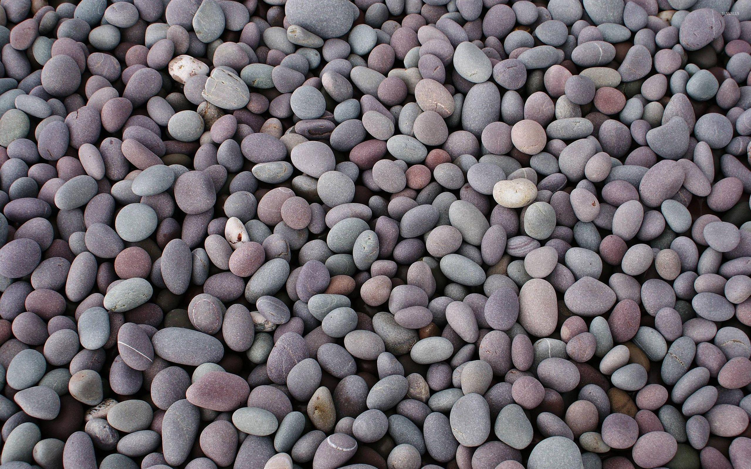 Smooth pebbles wallpaper - Photography wallpapers - #29087