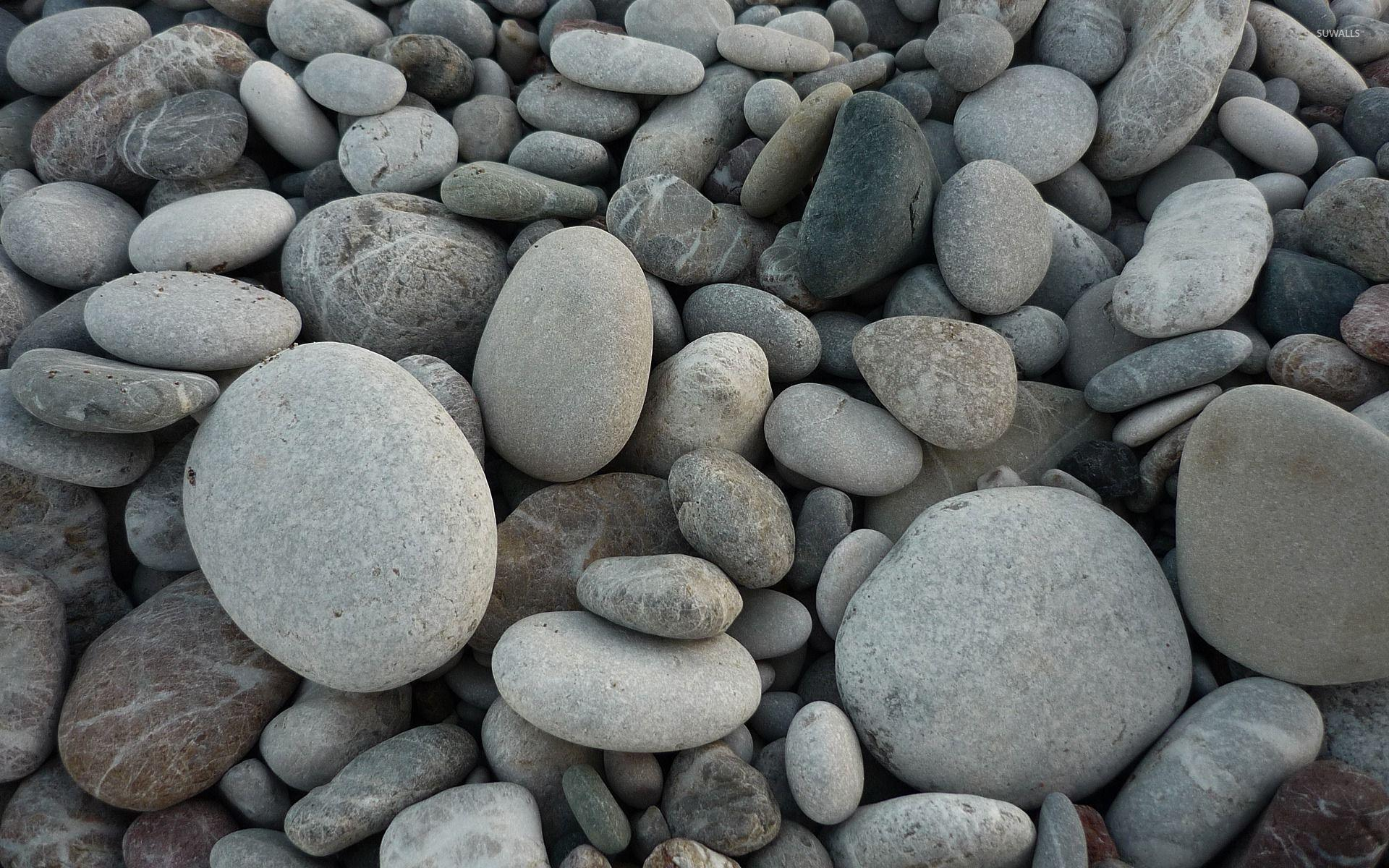 Gray pebbles wallpaper - Photography wallpapers - #53953