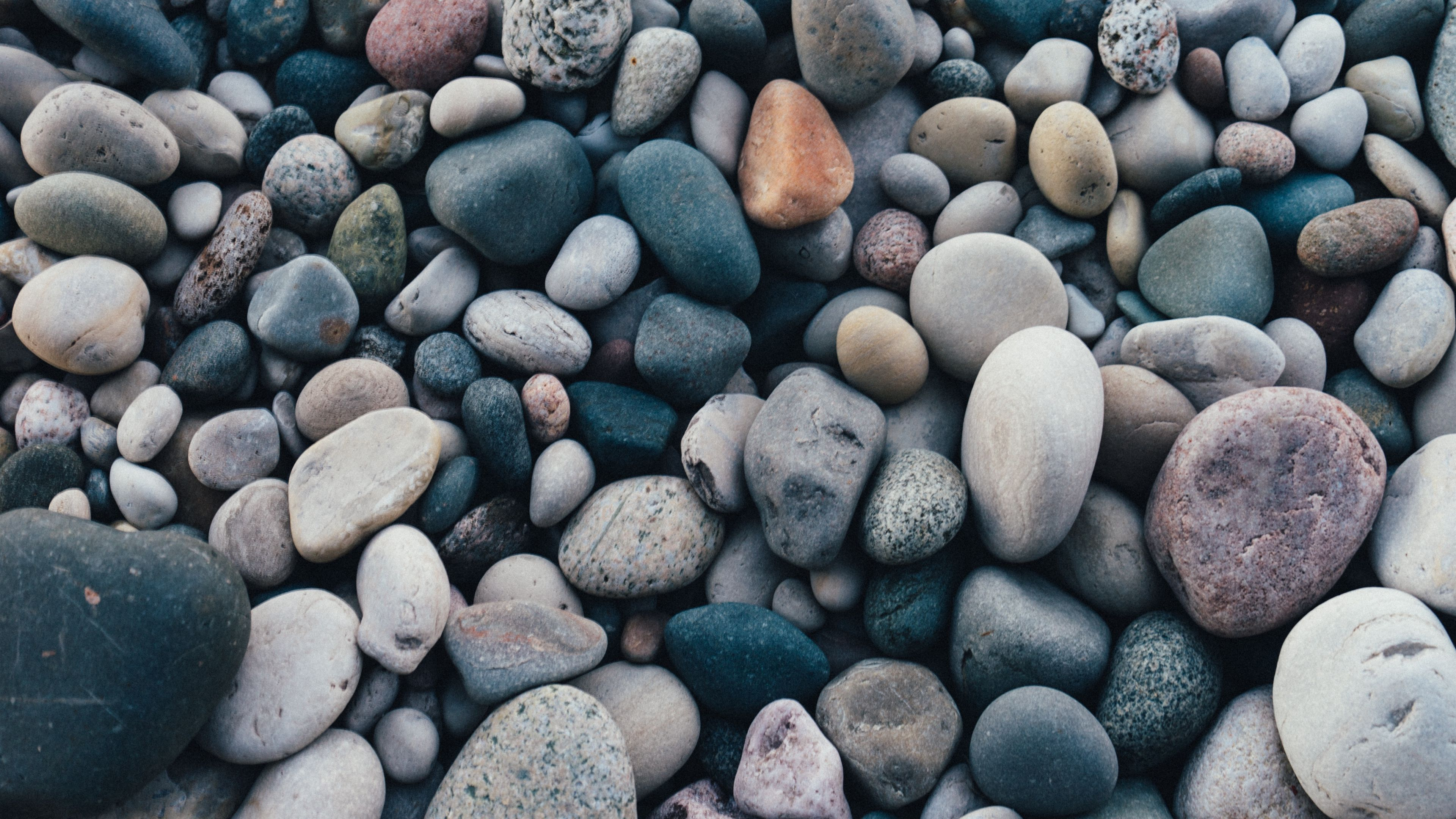 Download wallpaper 3840x2160 stones, sea, pebble 4k uhd 16:9 hd ...