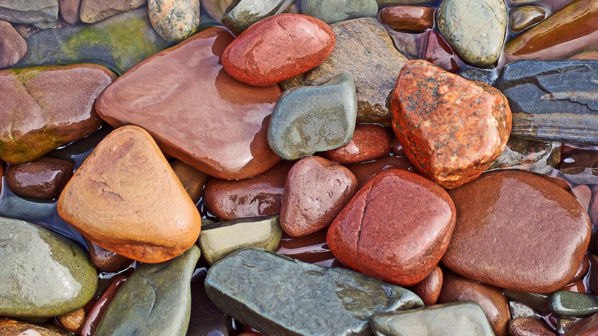 Wet Pebble Wallpaper | Wallpaper Studio 10 | Tens of thousands HD ...