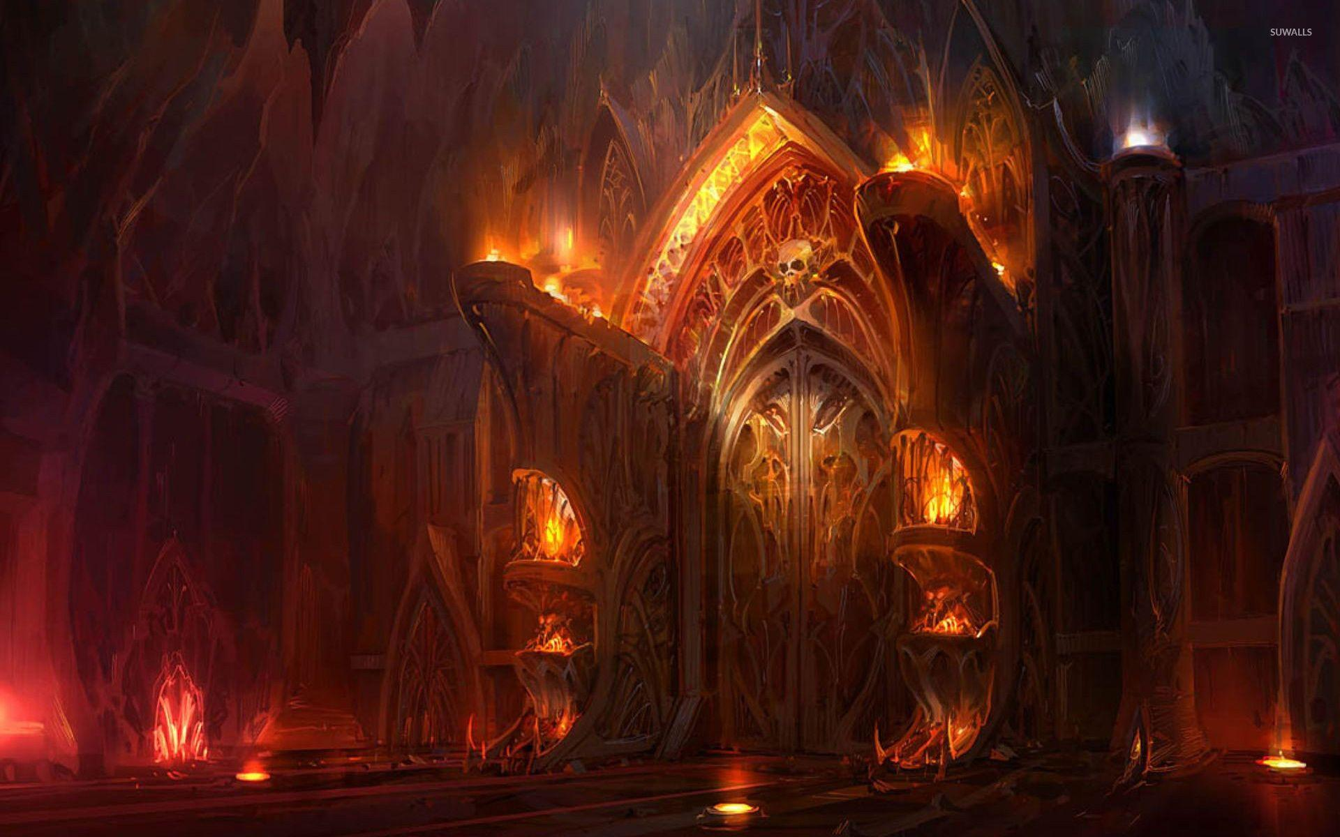Hd Wallpapers The Gates Of Hell Wallpaper Cave