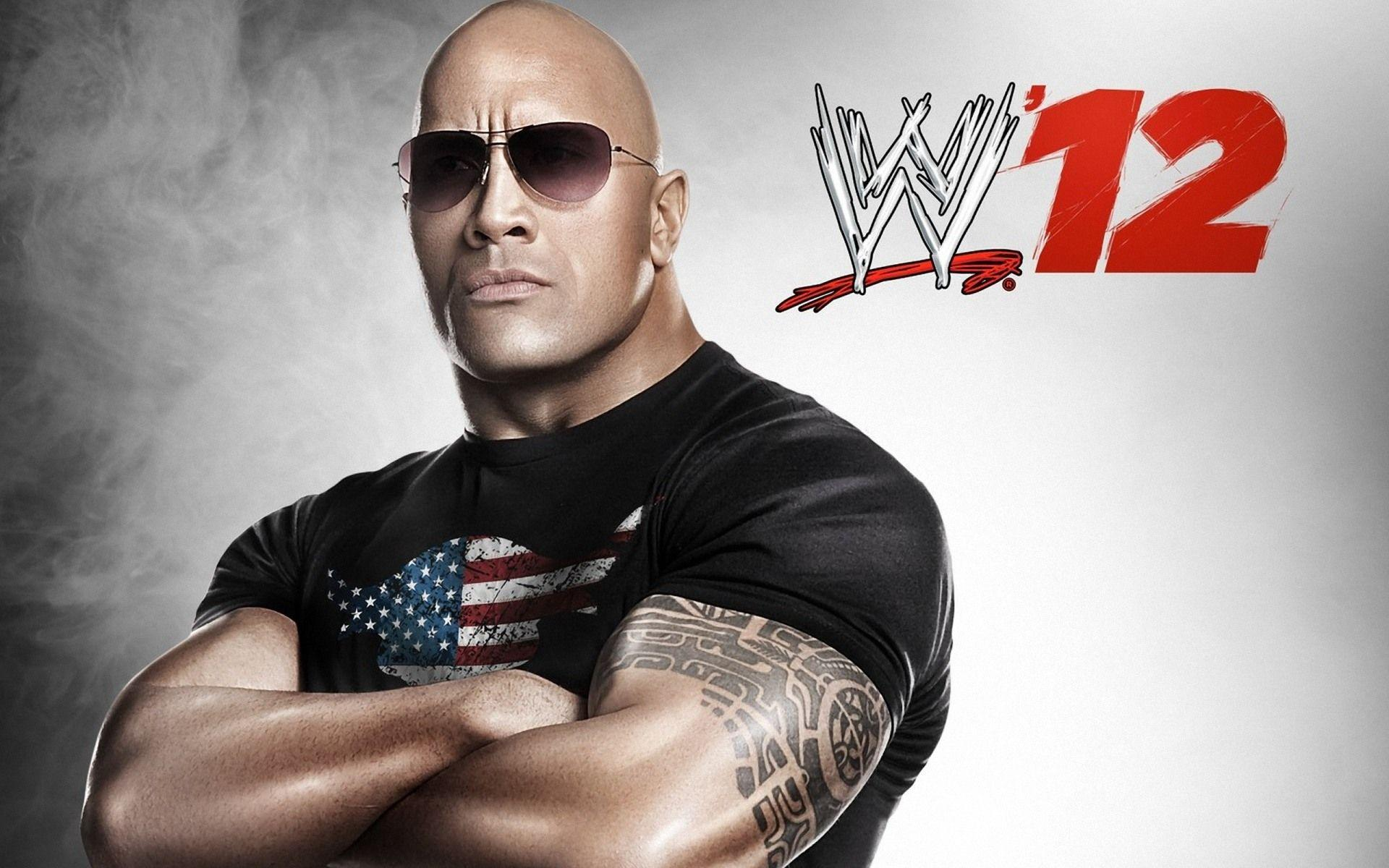 WWE 12 The Rock Wallpapers