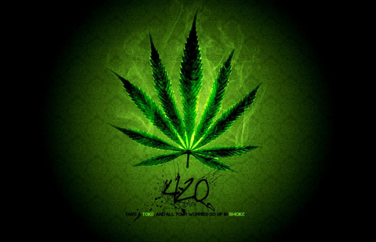 Weed 3D Wallpapers Wallpaper Cave