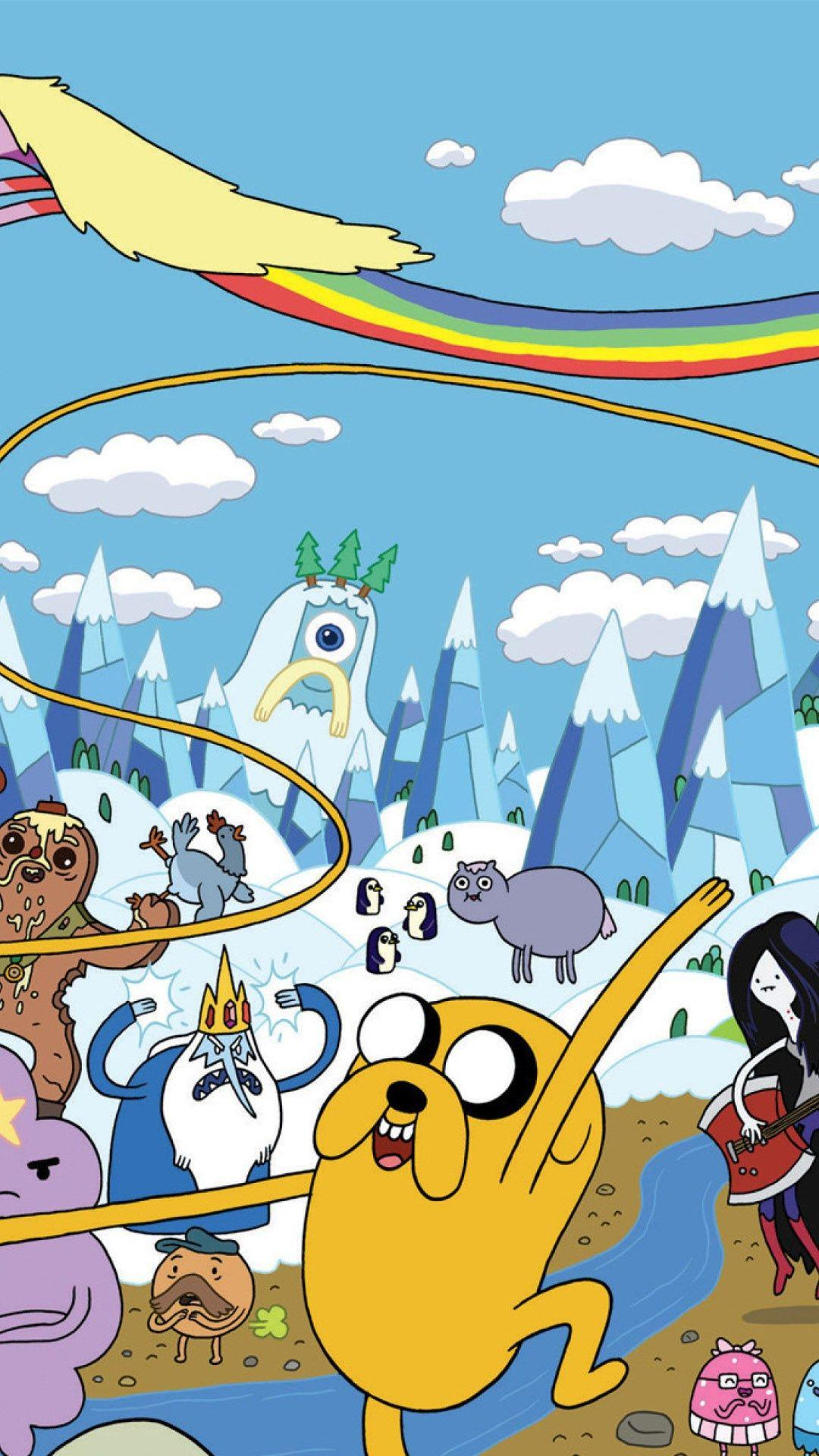 adventure time iphone wallpapers hd