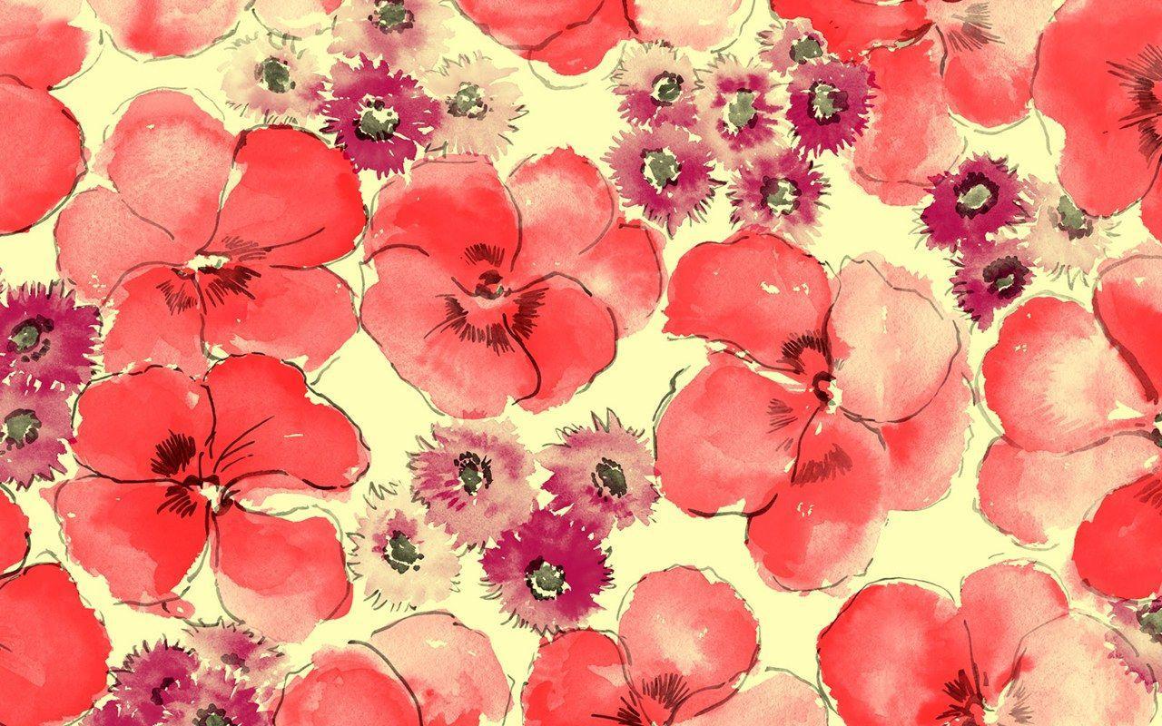Flower Vintage Wallpapers Tumblr Wallpaper Cave
