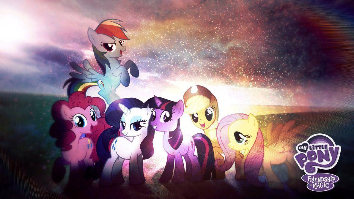 My Little Pony Friendship Is Magic Wallpaper HD by Jackardy on ...
