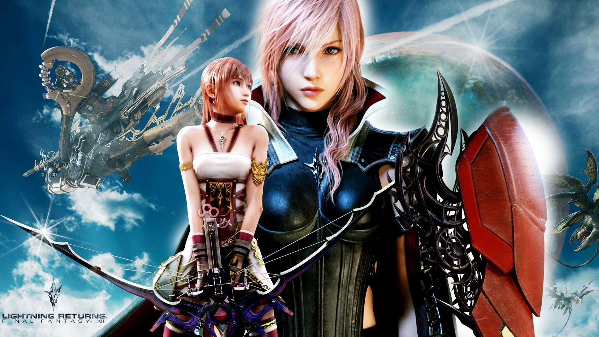 Free Download Final Fantasy Xiii Serah Sexy Swimsuit Game Mania Club Wallpapers
