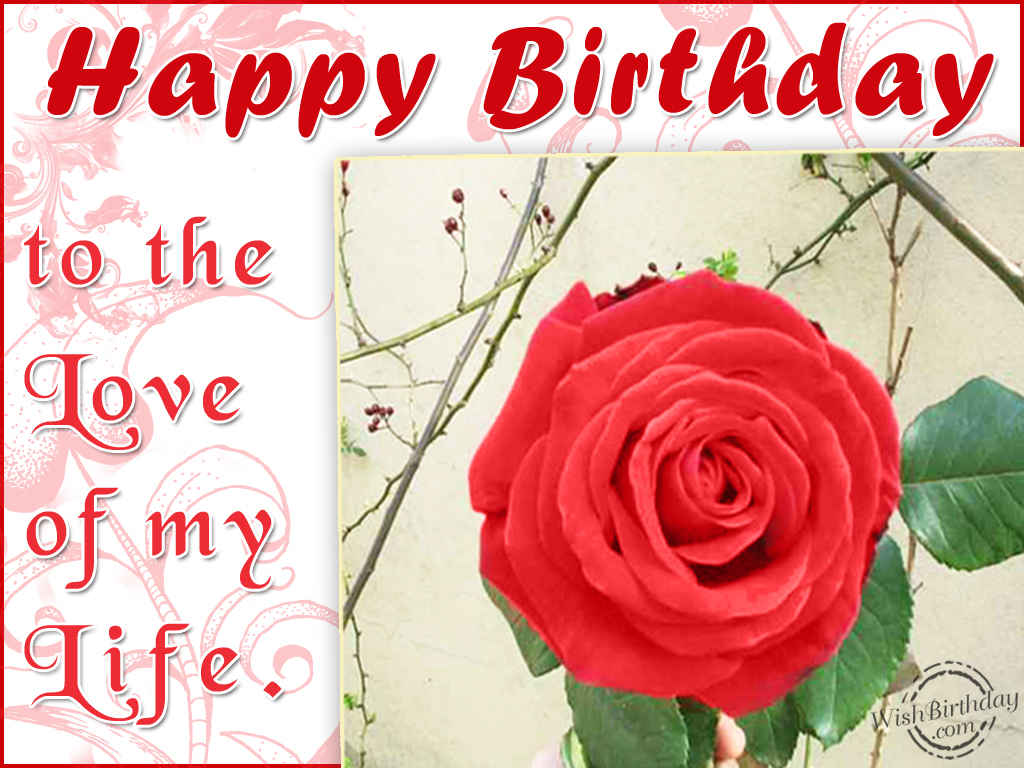 Happy Birthday My Love Wallpapers Wallpaper Cave