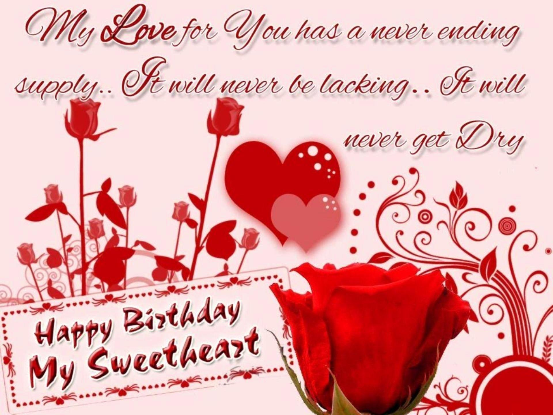 Happy Birthday My Love Wallpapers - Wallpaper Cave