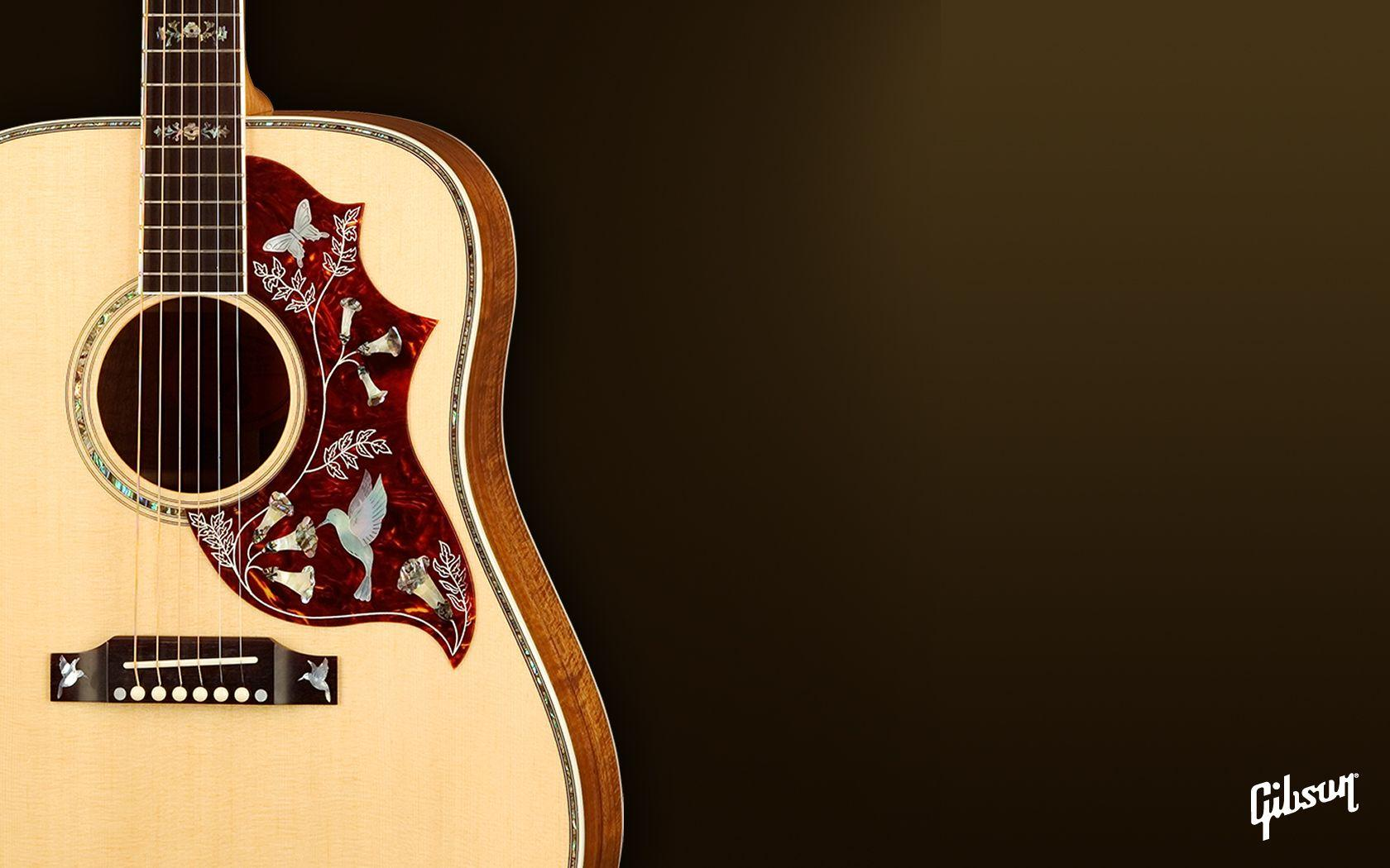 Gibson Acoustic Guitar Wallpapers Wallpaper Cave