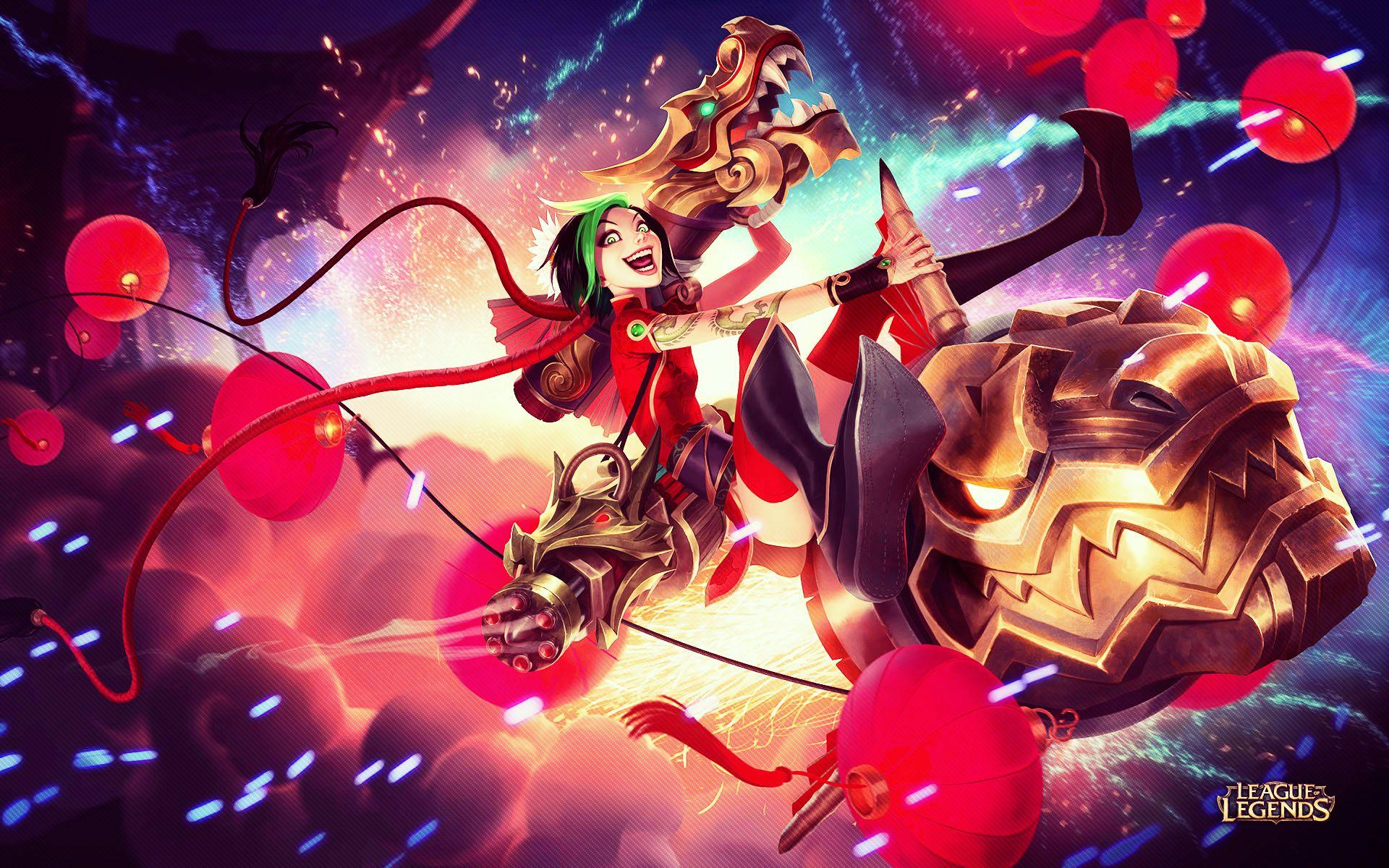 Jinx League Of Legends Wallpapers