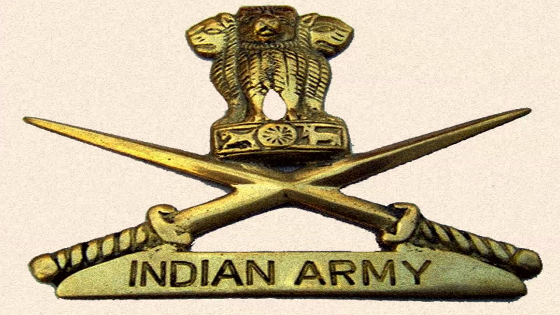 Indian army logo wallpapers wallpaper cave - Army wallpaper hd 1080p ...