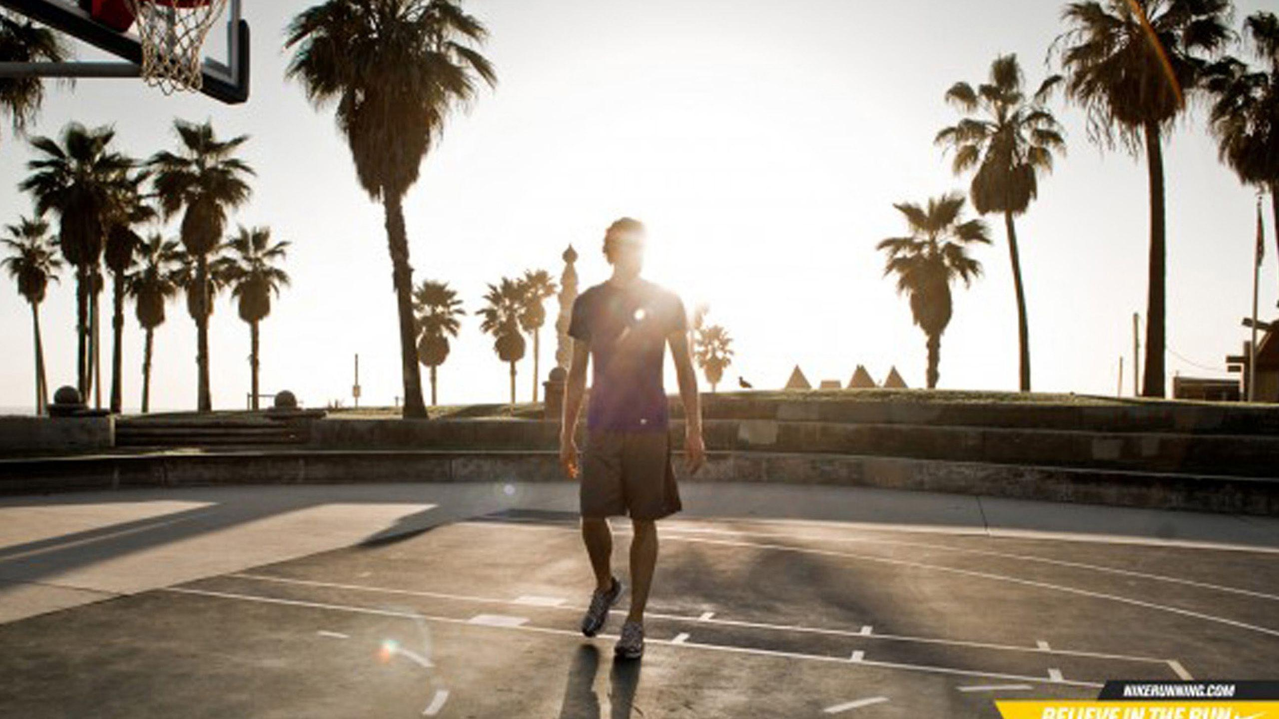 Nike Palm Trees Wallpaper