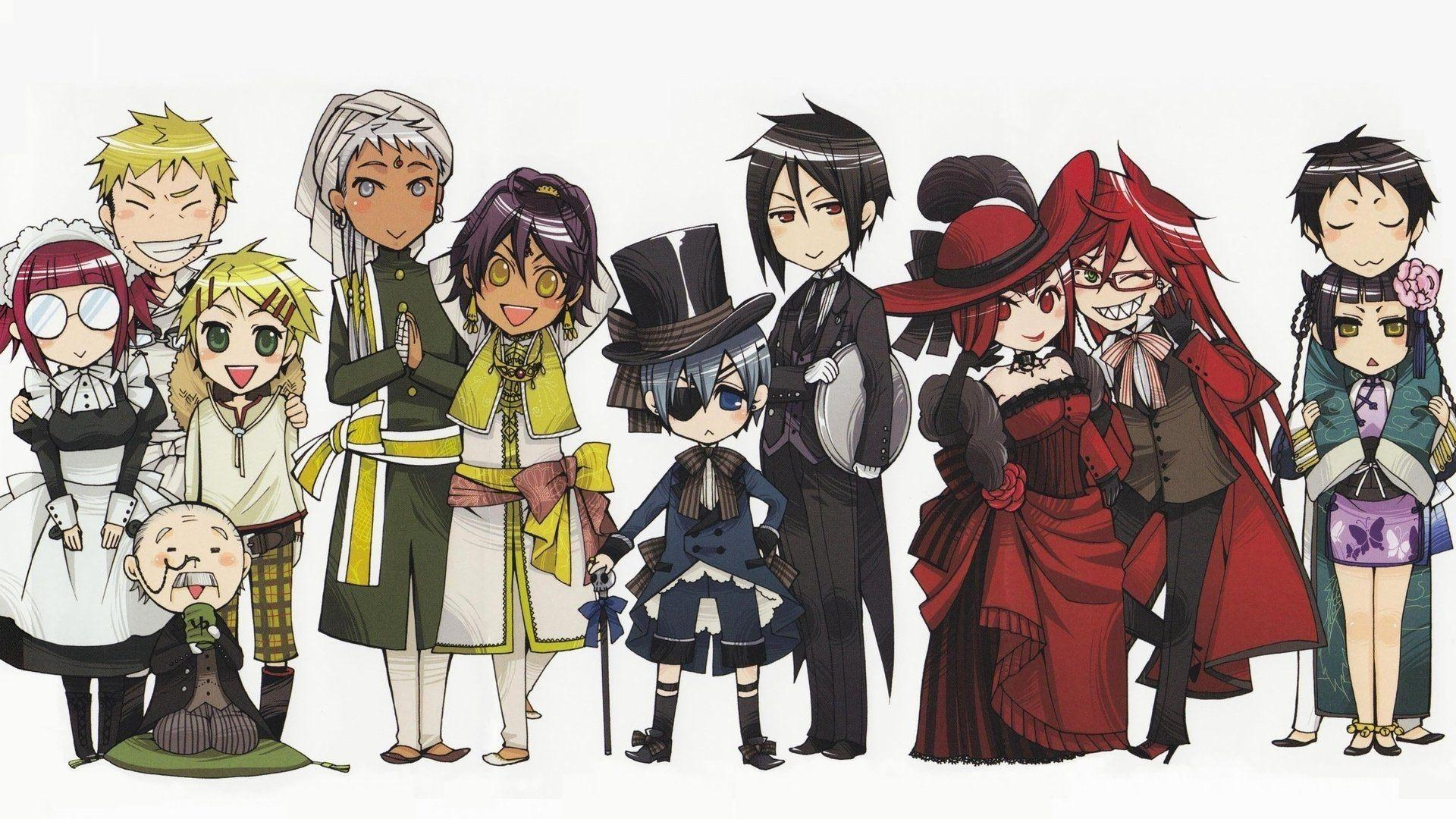 259 Black Butler HD Wallpapers | Background Images - Wallpaper Abyss