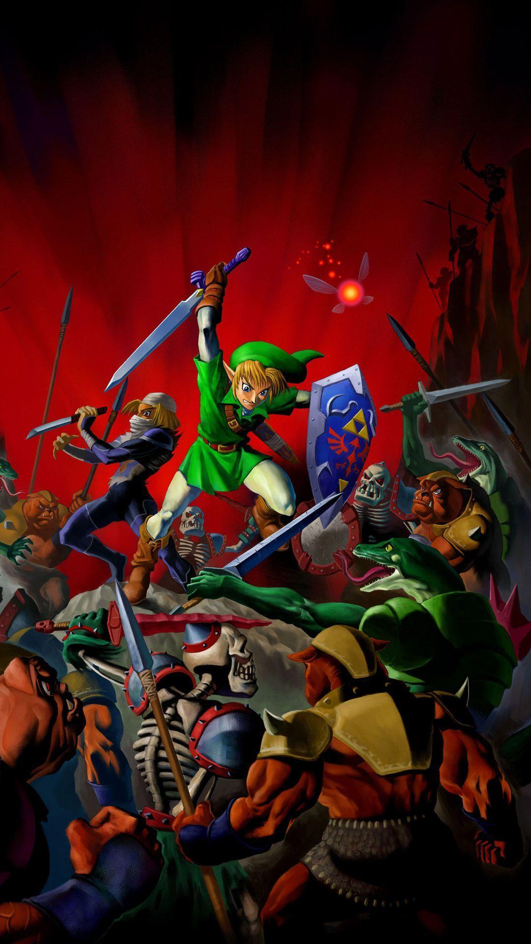 Zelda Handy Wallpapers Wallpaper Cave