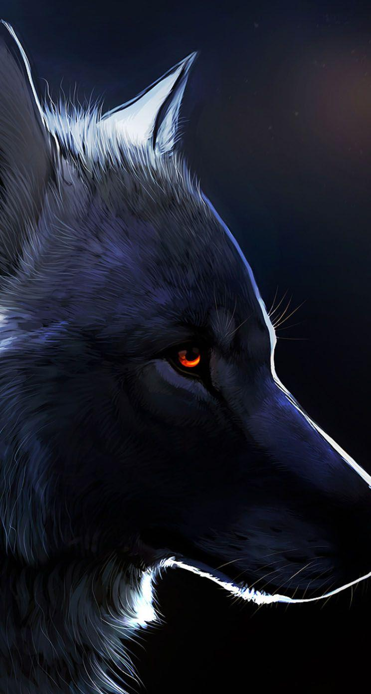 Anime Black Wolf Wallpapers Wallpaper Cave