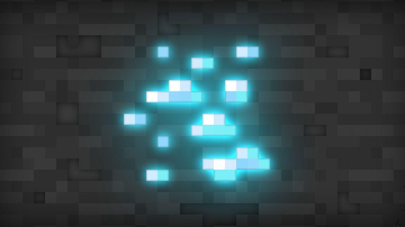 1366x768 Diamond, Minecraft, Diamonds, Minecraft Wallpapers and .