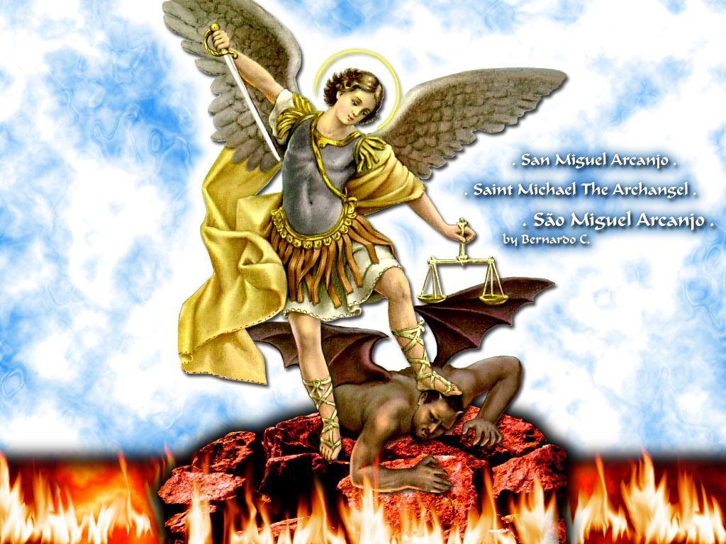 Archangel Michael Wallpapers Hd Wallpaper Cave