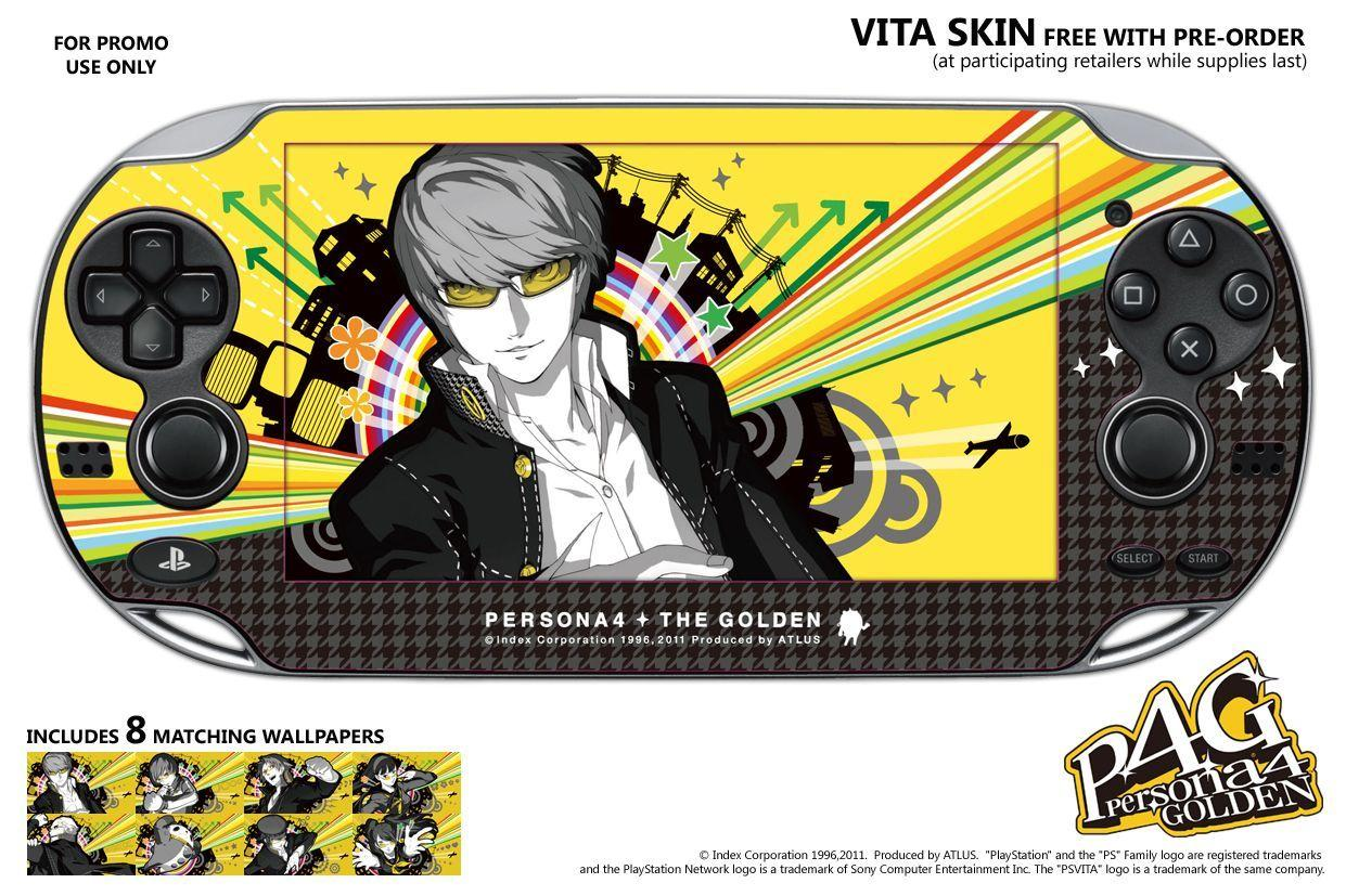 Persona 4 Golden Ps Vita Wallpapers