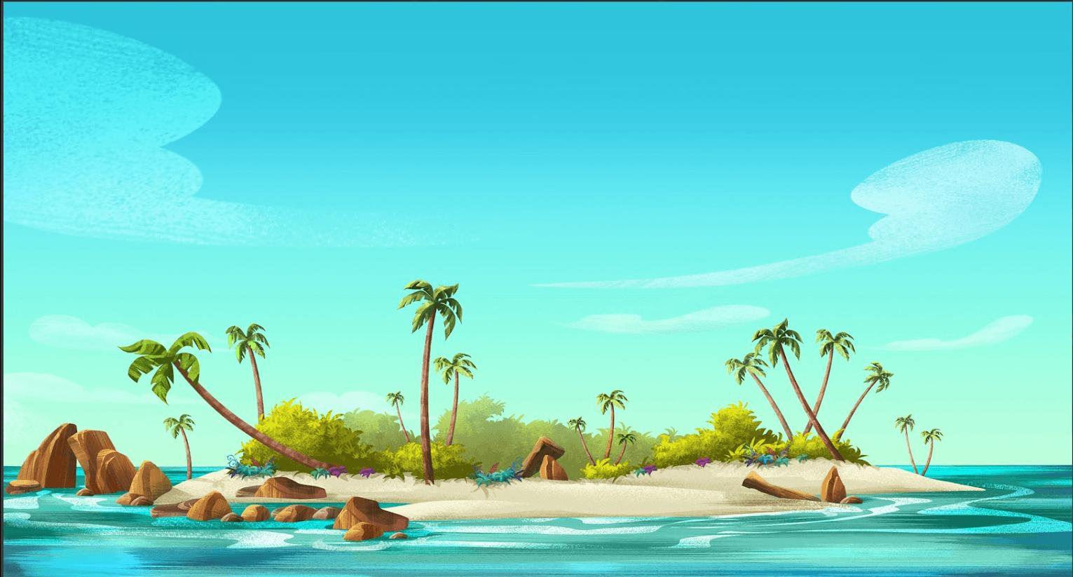 Картинки островов для детей