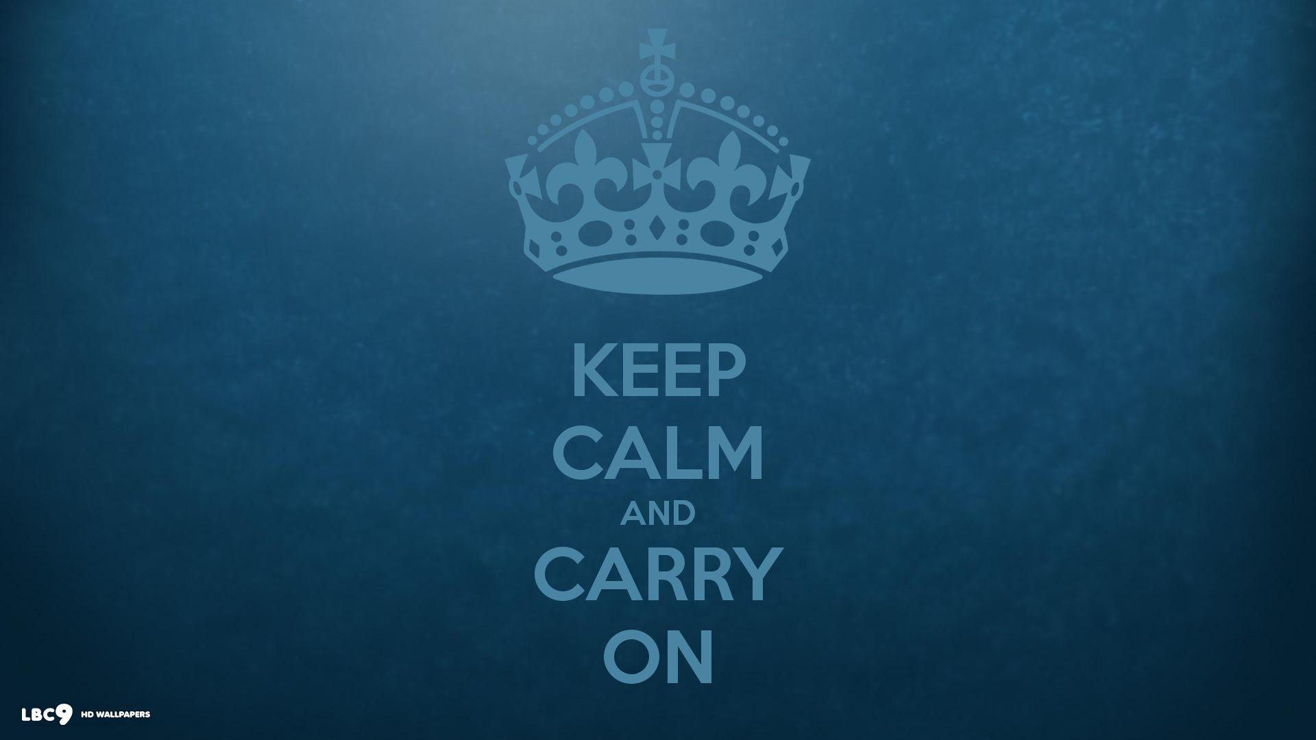 Keep Calm Wallpapers HD