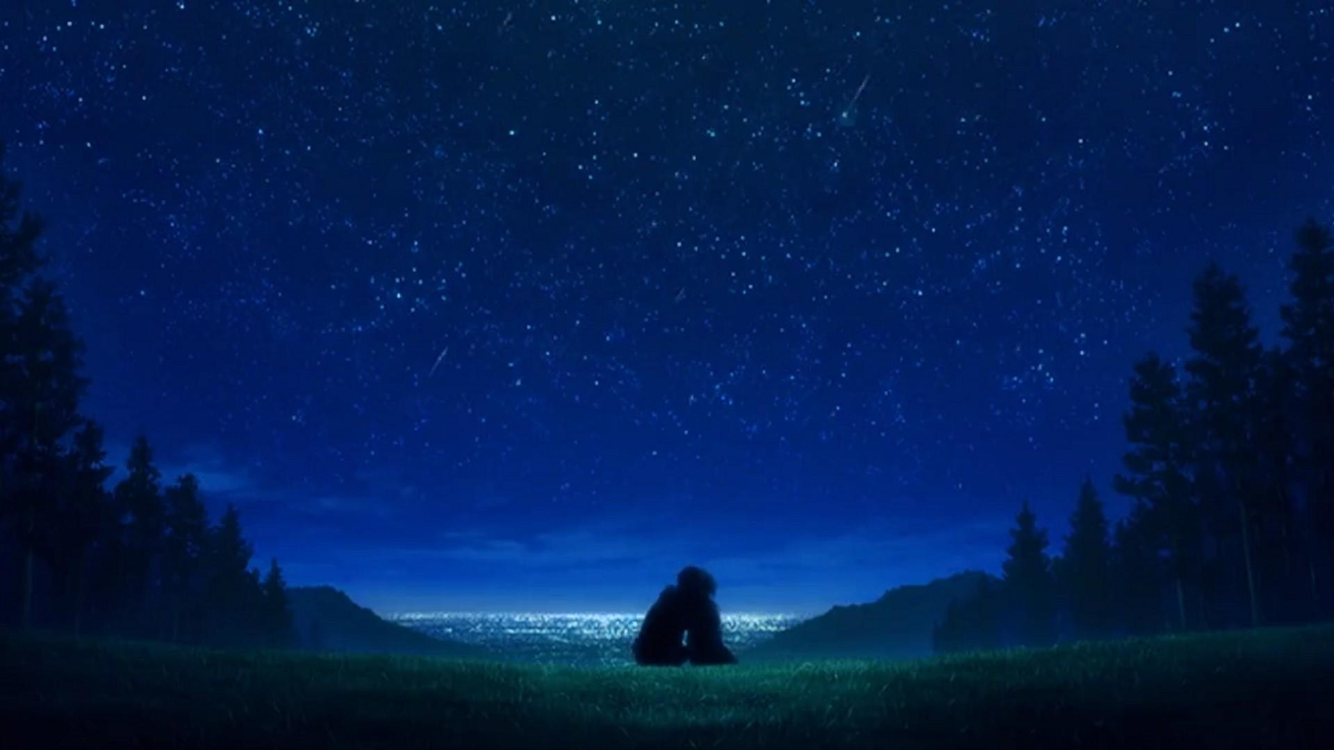 Anime Night Wallpapers - Wallpaper Cave