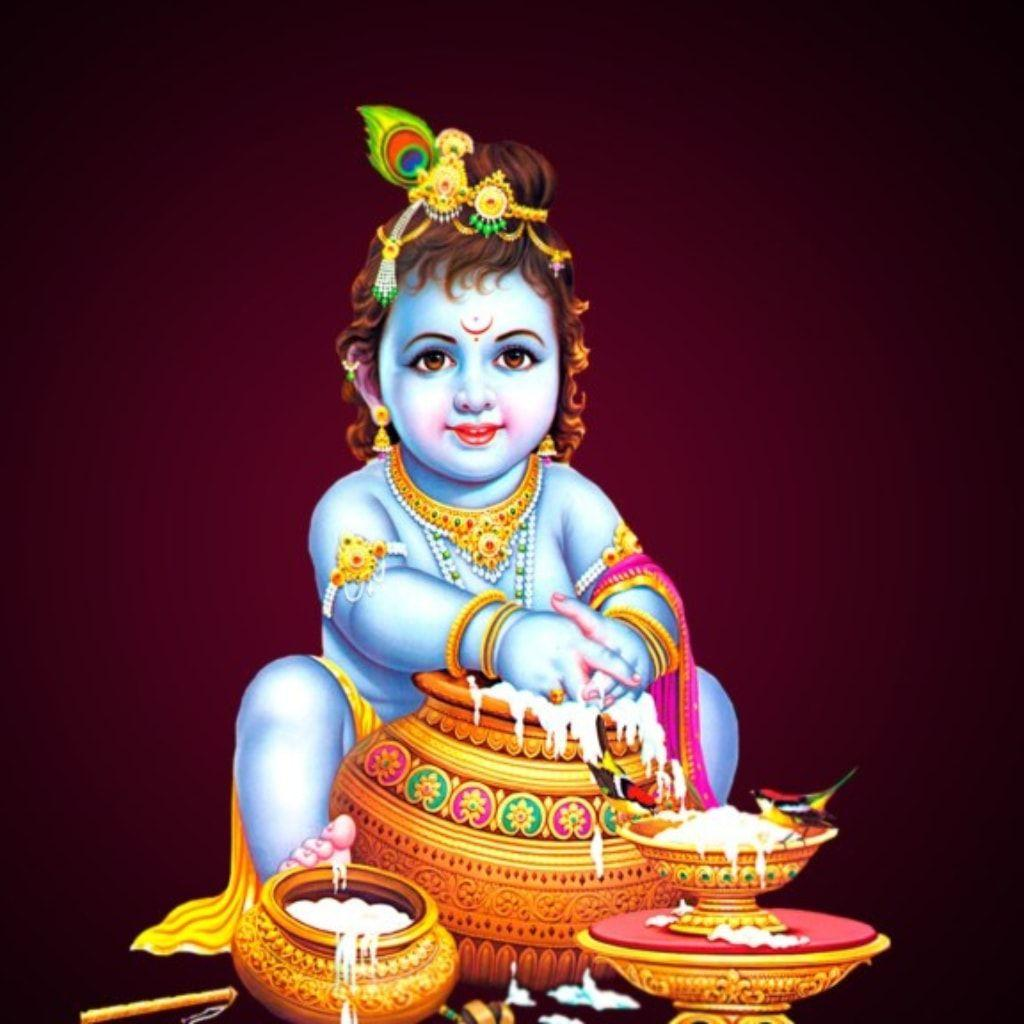 Top 35+ Cute Lord Krishna Photos Free Download Hd For Mobile