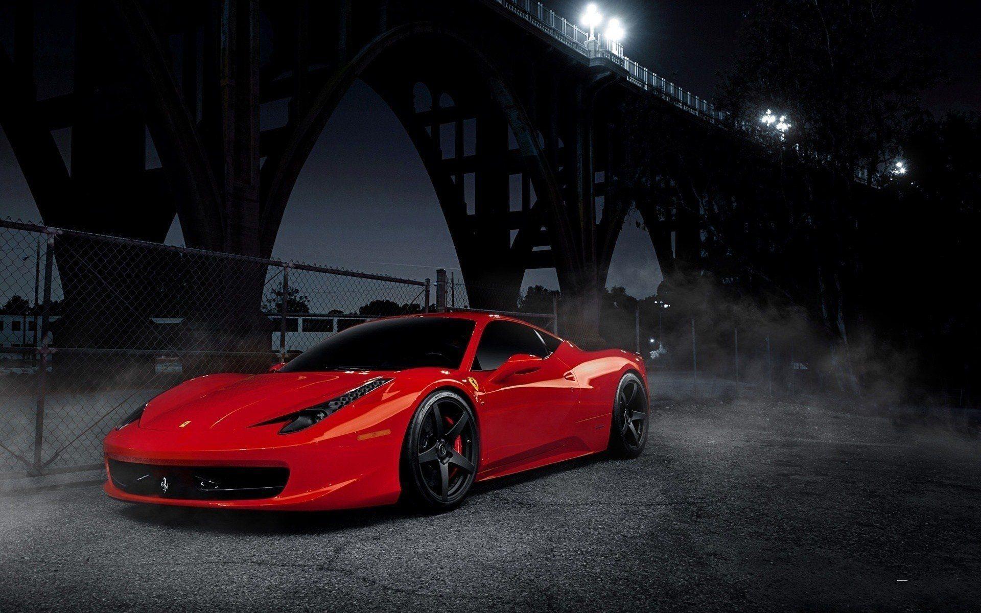 Black Ferrari Wallpaper Hd For Desktop