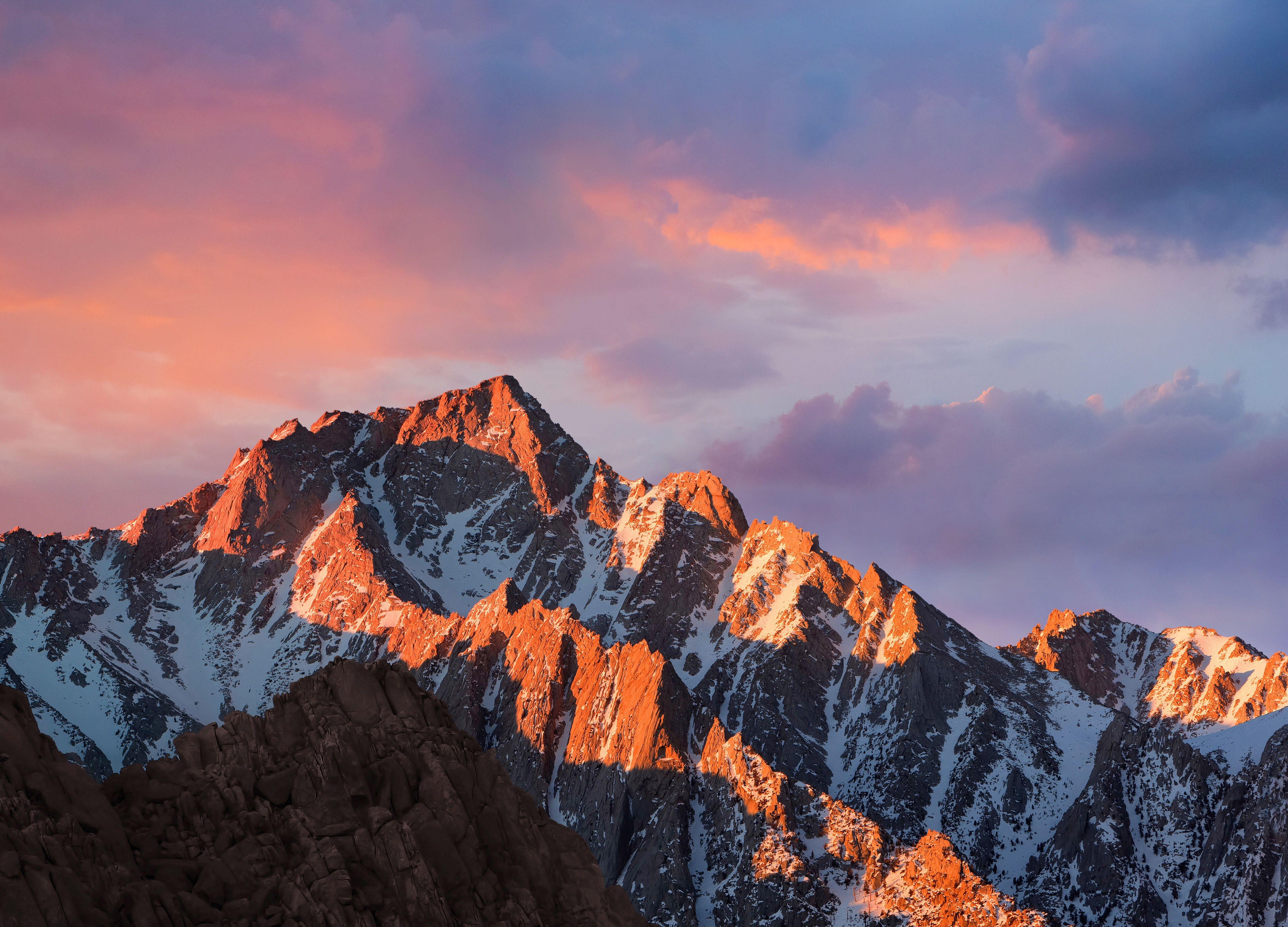 iOS 10 and macOS Sierra Default Wallpapers Image Free Download