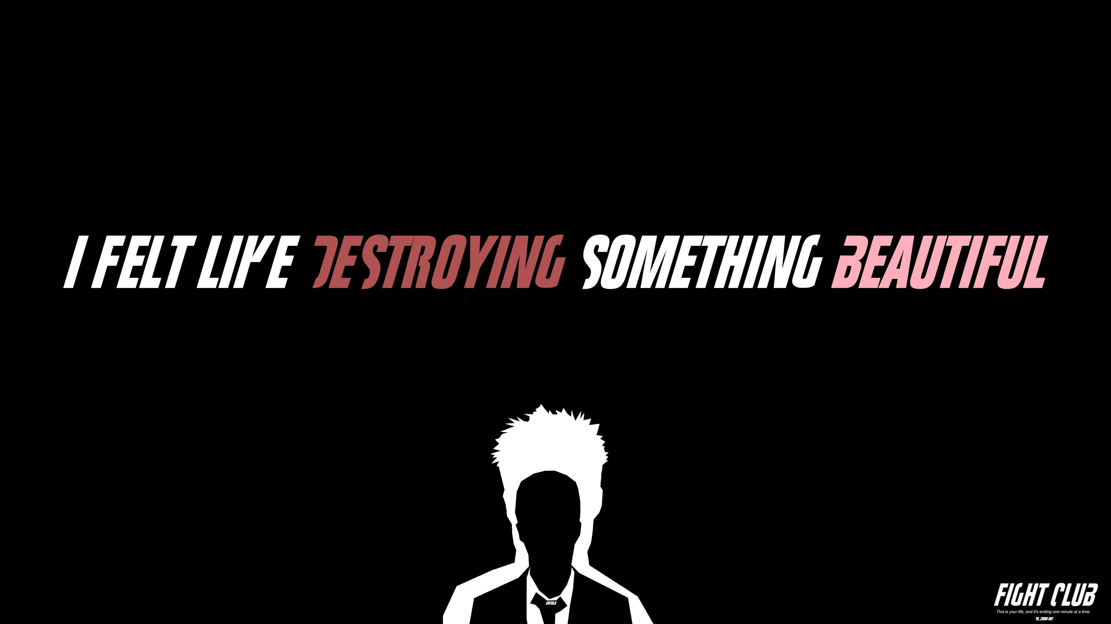 Fight Club Typography, HD Typography, 4k Wallpapers, Images ...