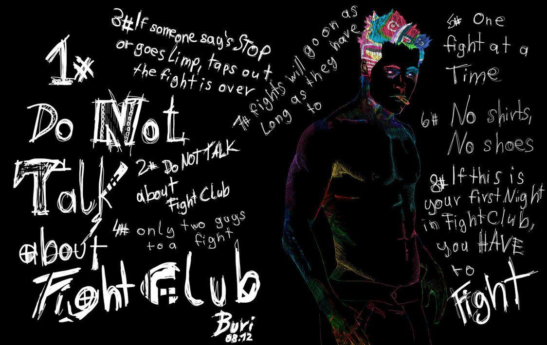 Fight Club Rules Wallpaper - Shared by Delora #43952 | Mulierchile
