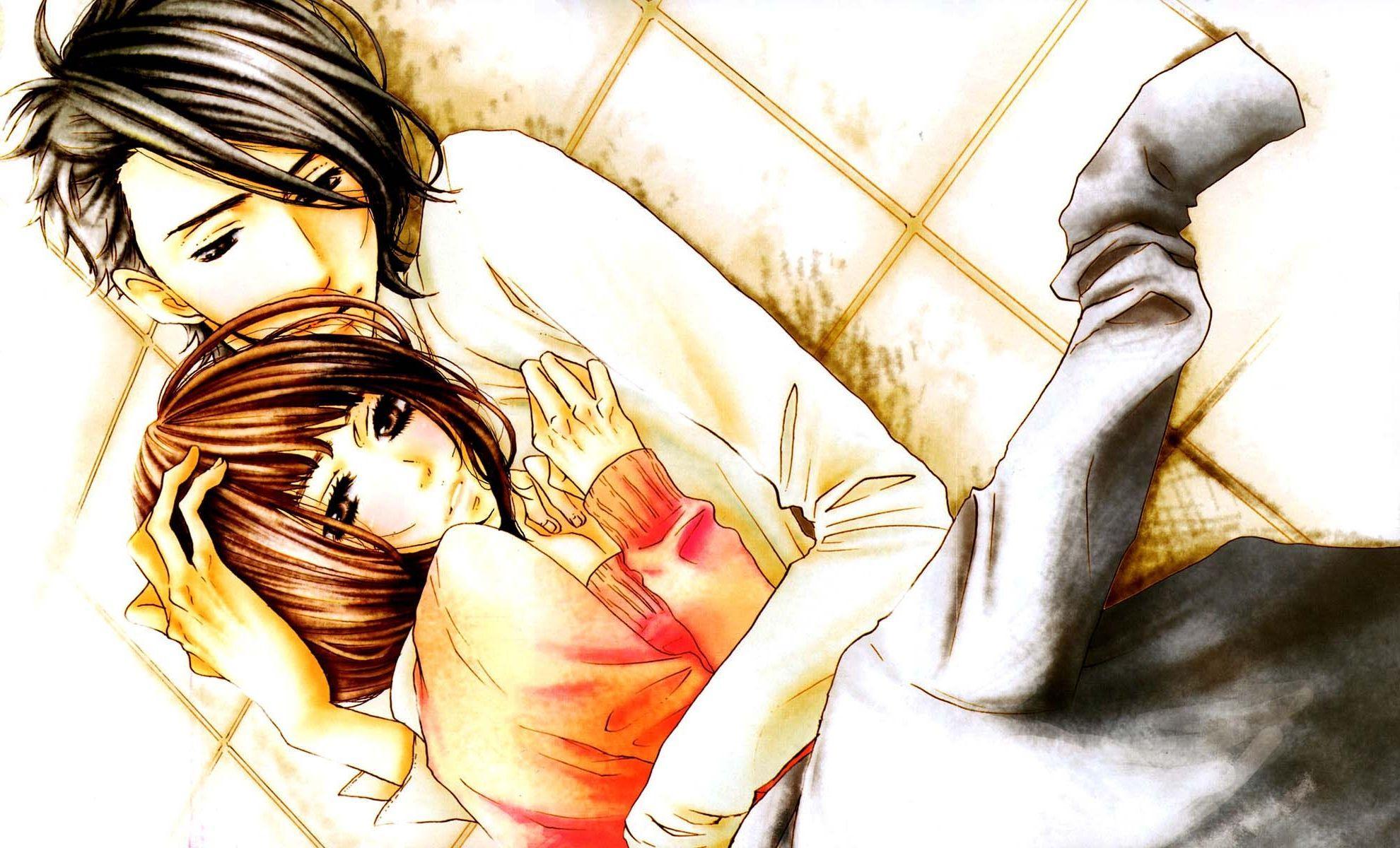 Cute Cartoon Love Couple Wallpapers