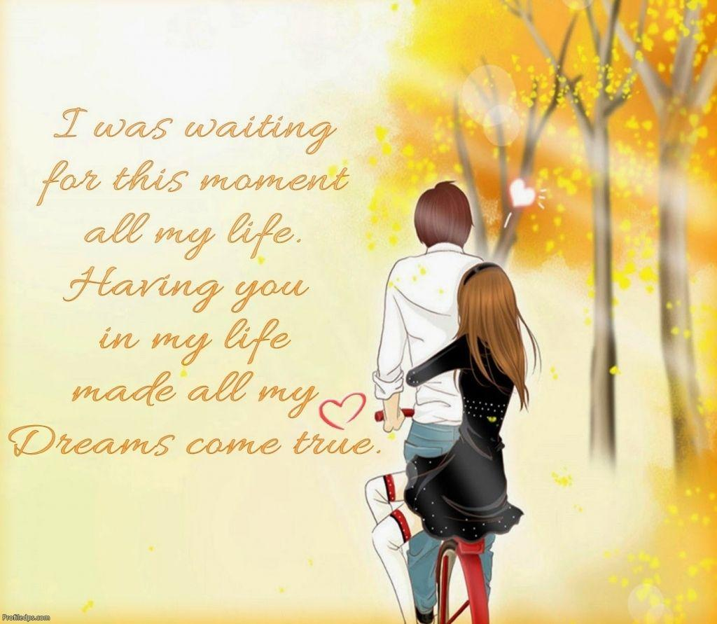 Cute Cartoon Love Couple Wallpapers Wallpaper Cave