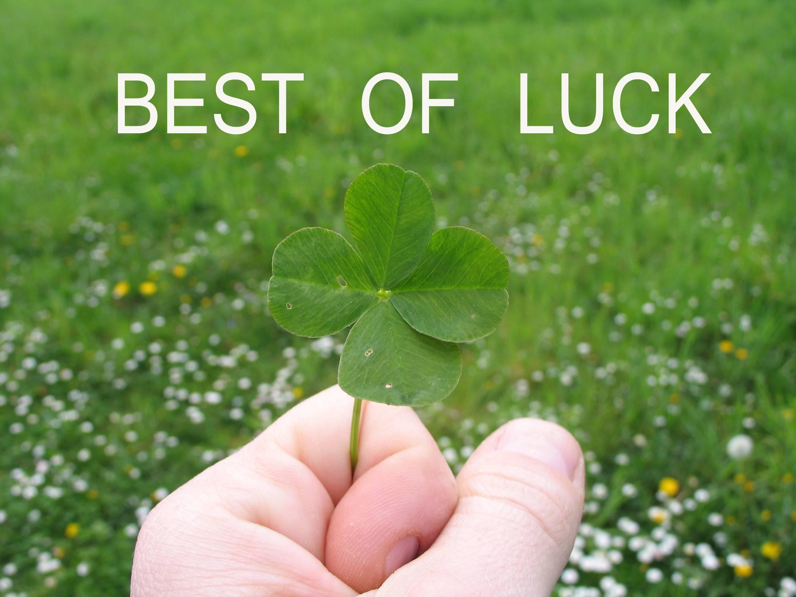 Best Of Luck Wallpapers Wallpaper Cave