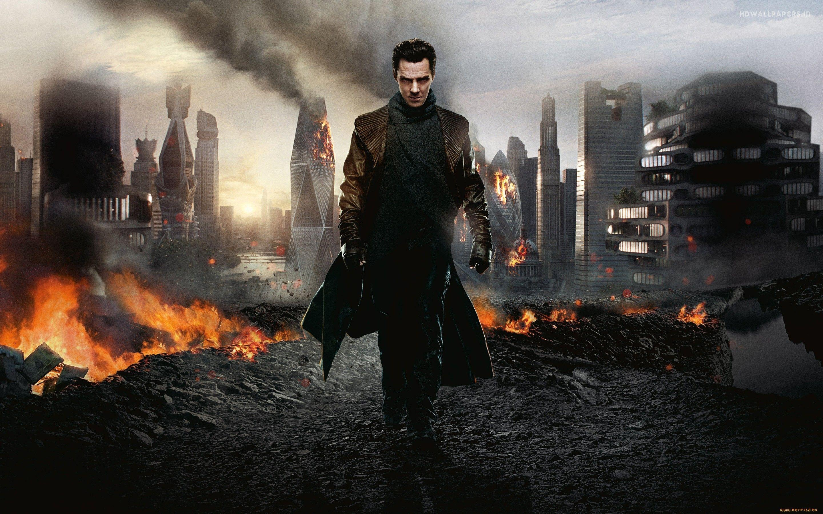 Movies star trek benedict cumberbatch into darkness wallpapers