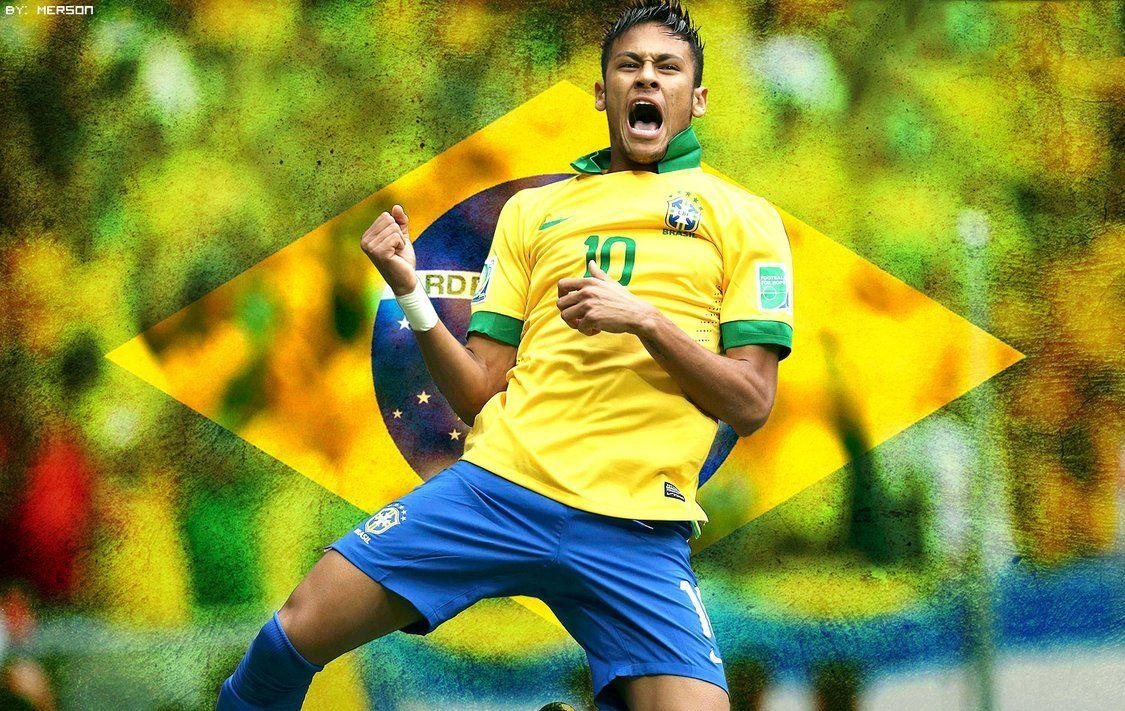 Brazil Neymar Jr by MersonJL on DeviantArt