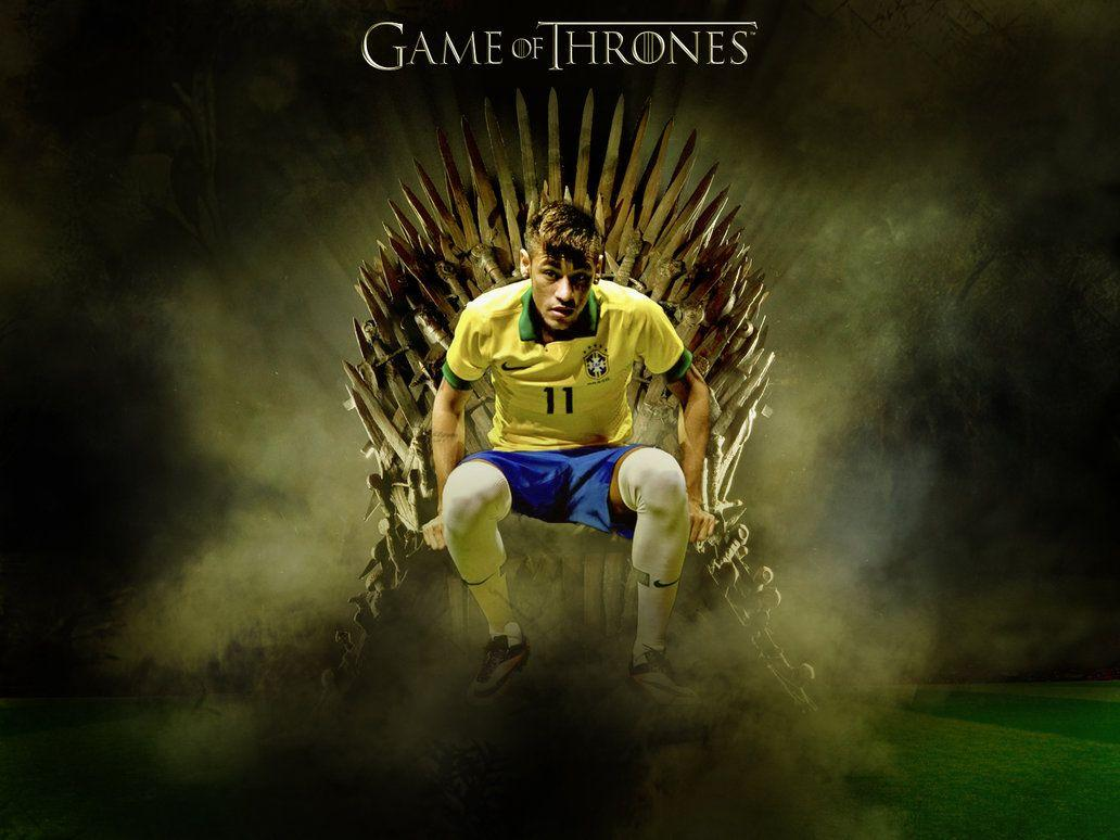 Neymar Wallpaper (Brazil) by RakaGFX on DeviantArt