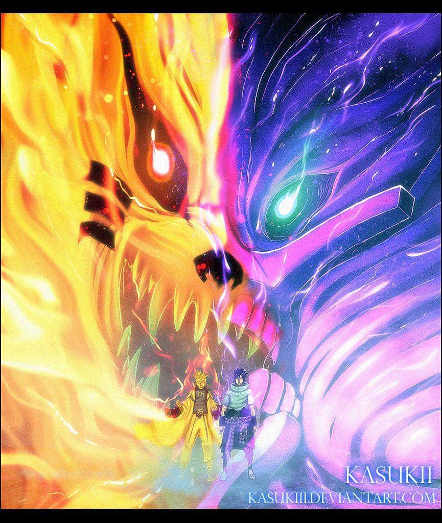 Kyuubi Susanoo Wallpapers HD Wallpaper Cave