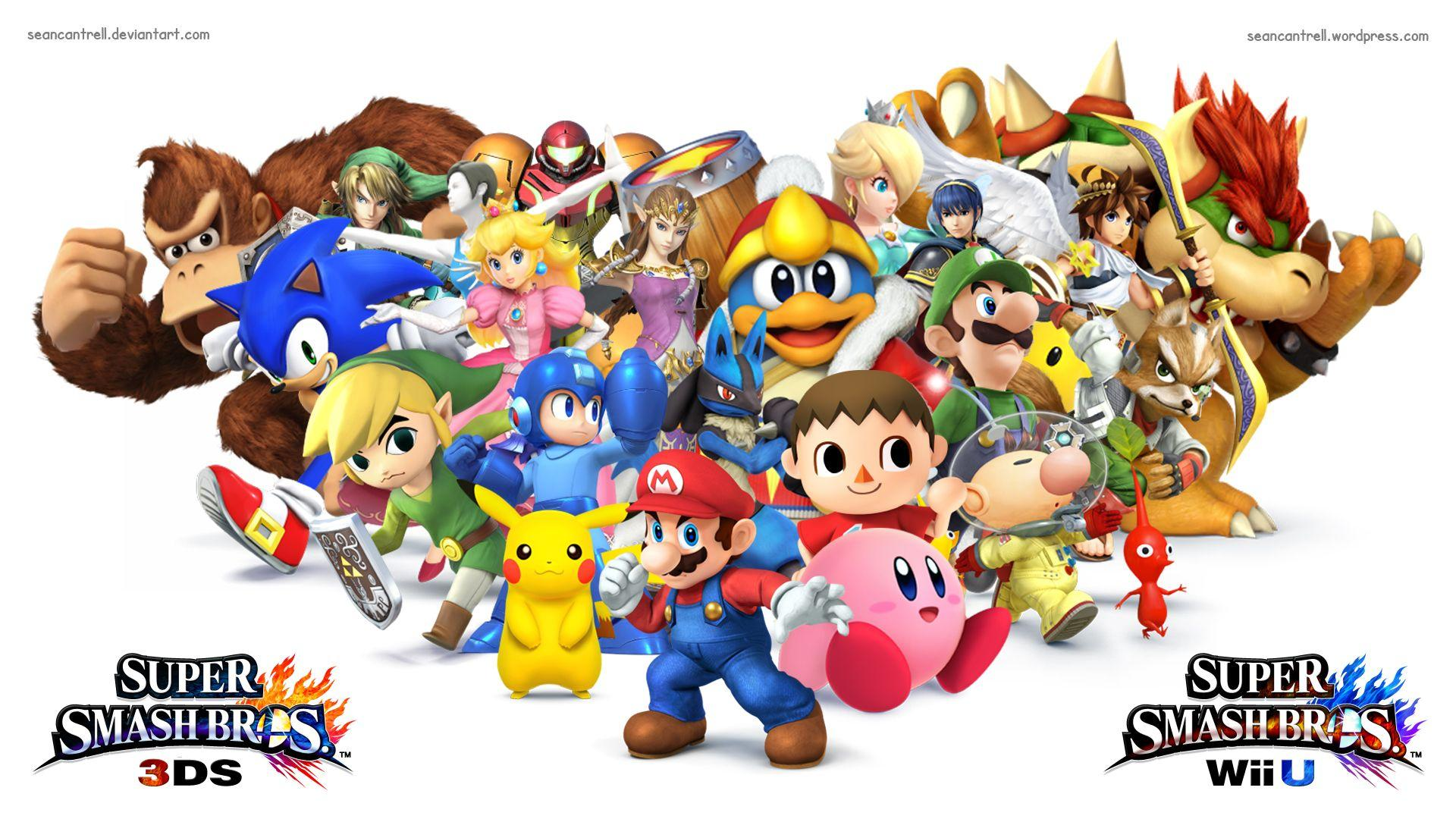 Super Smash Brother Wallpapers Hd Wallpaper Cave