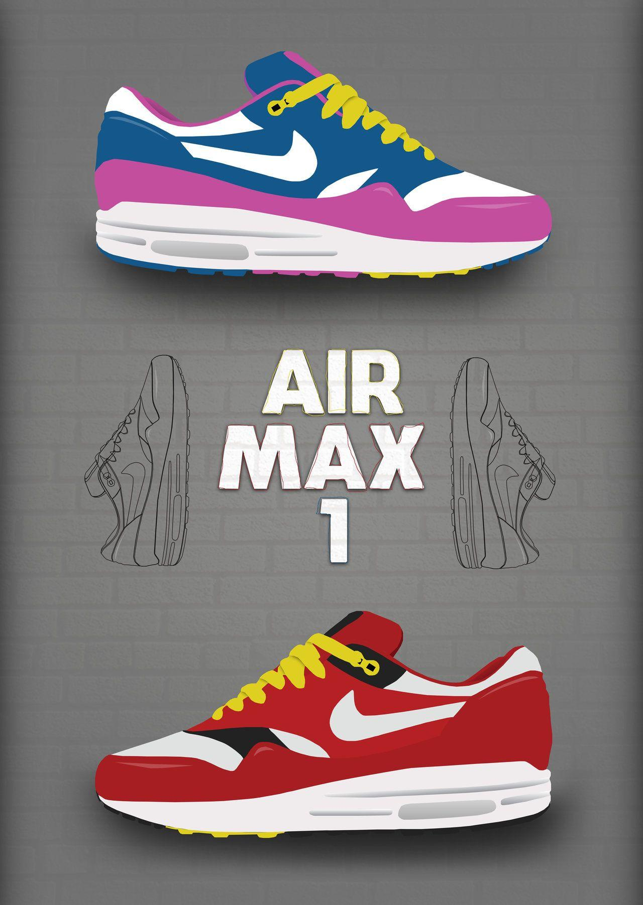 79da85e945 Nike air max 1 poster by Ghost-3 on DeviantArt