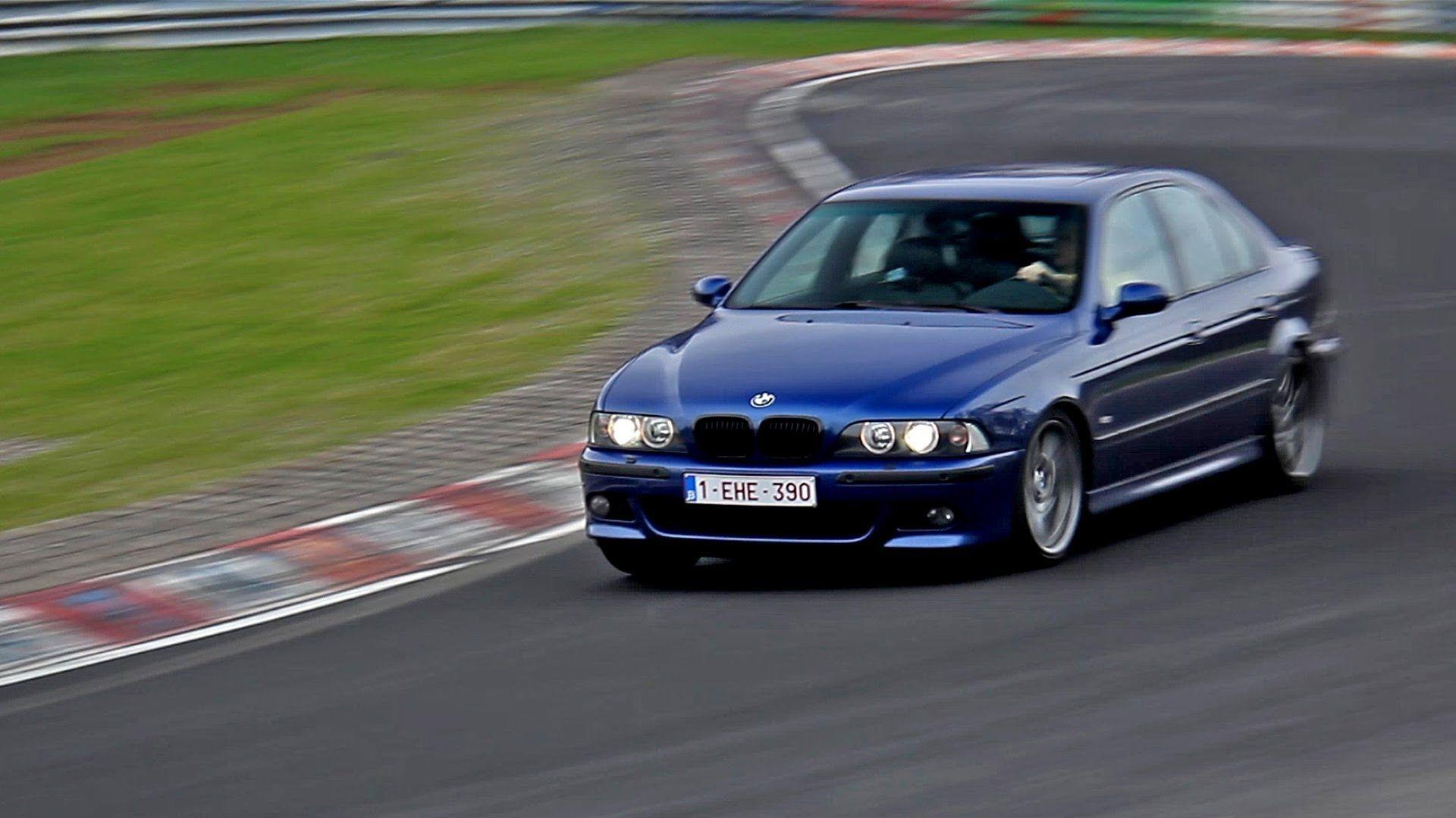BMW M5 E39 LOUD Sounds at the Nürburgring!